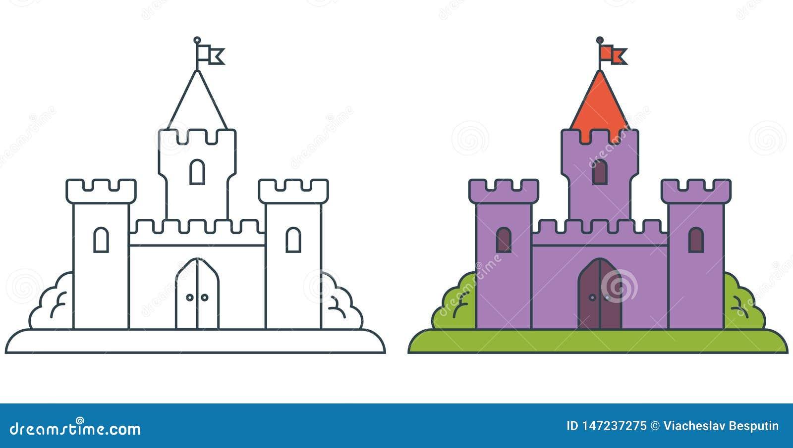 Εικόνα ενός μεσαιωνικού κάστρου