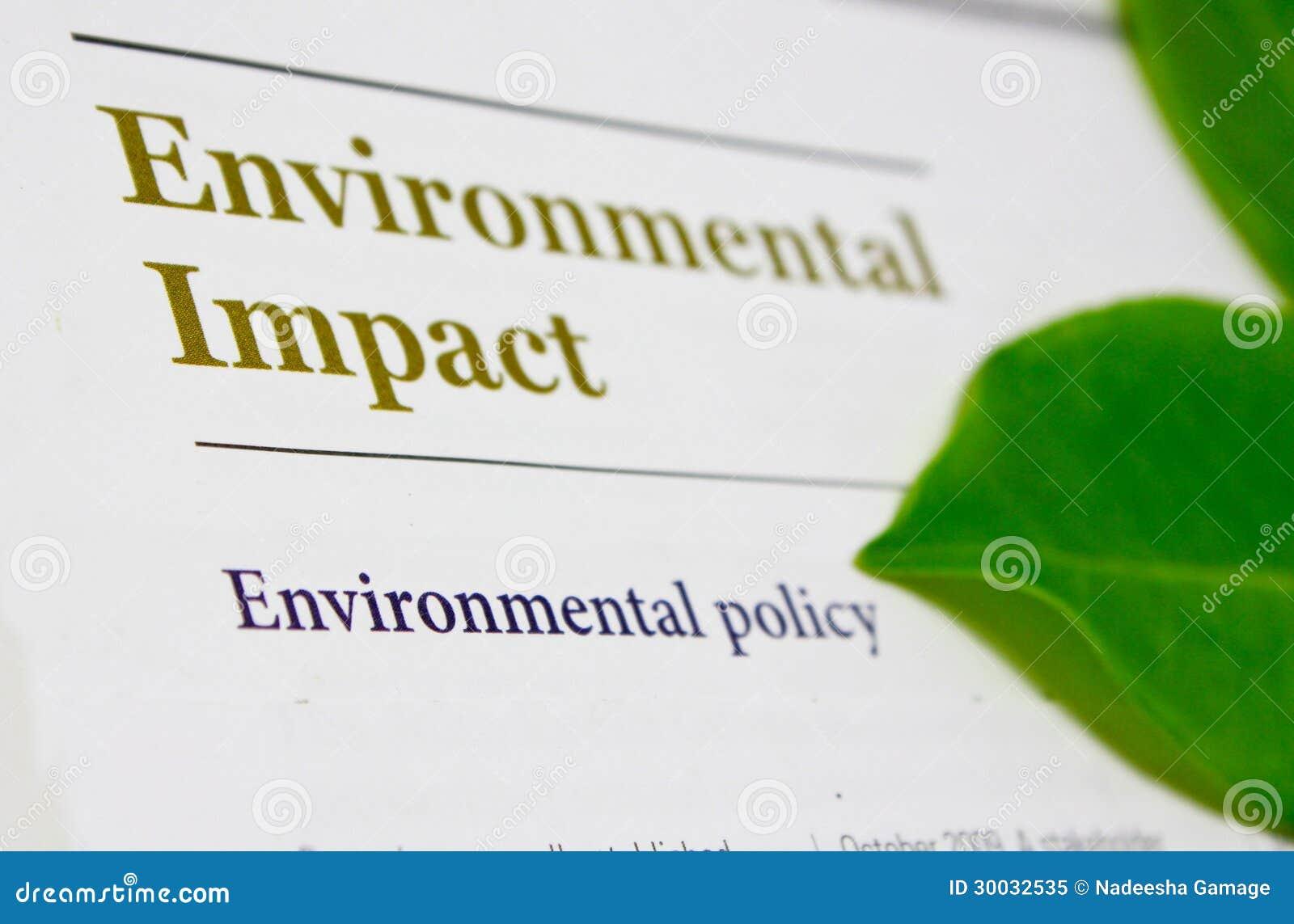 Περιβαλλοντική επίδραση