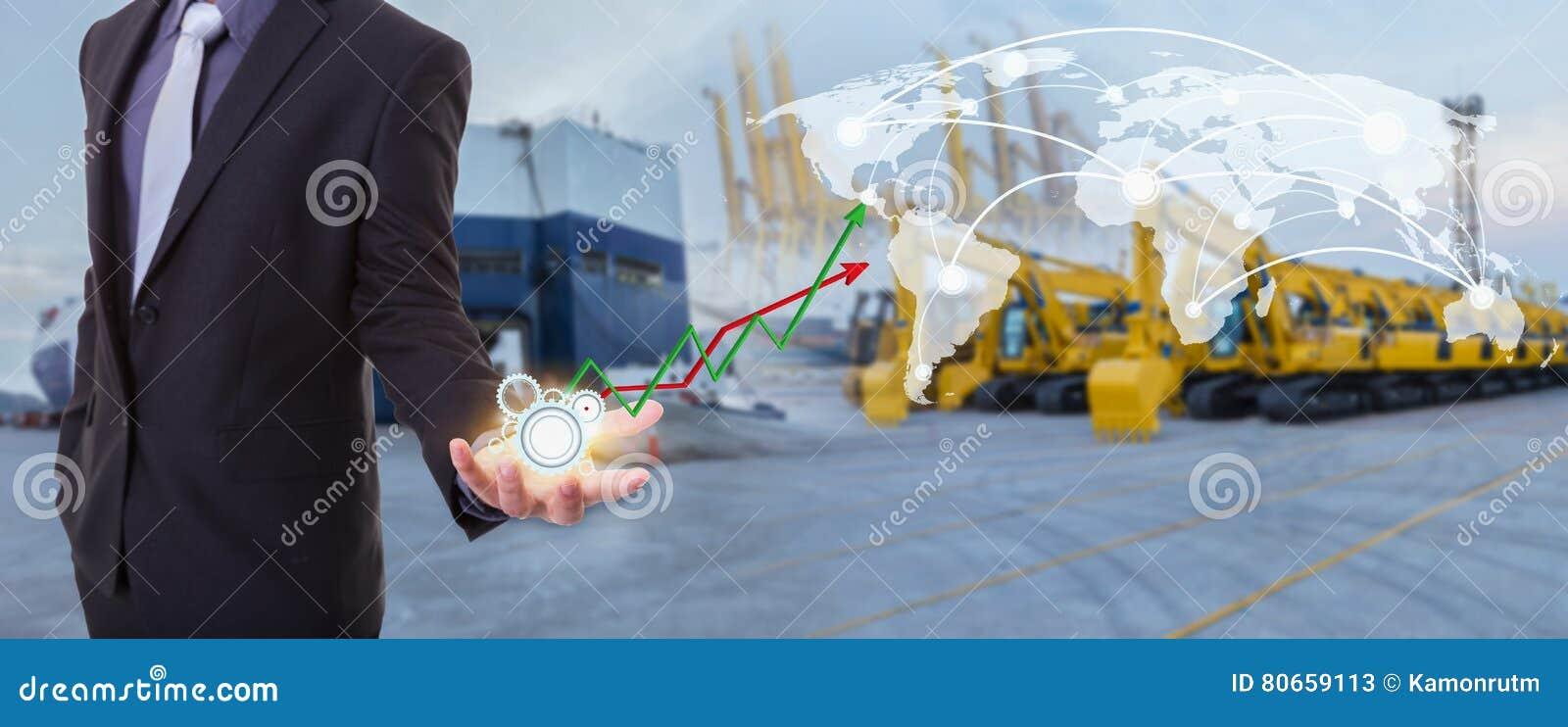 Εικόνα της επιχειρησιακής έννοιας στη διοικητική επιτυχία