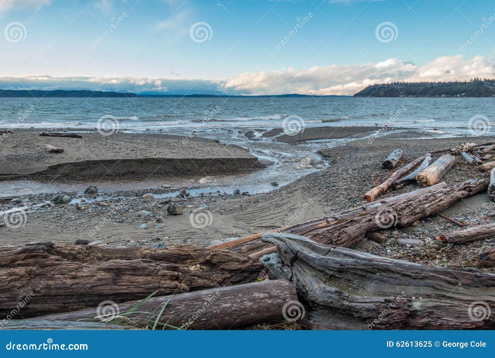 Ειρηνικό βορειοδυτικό seascape