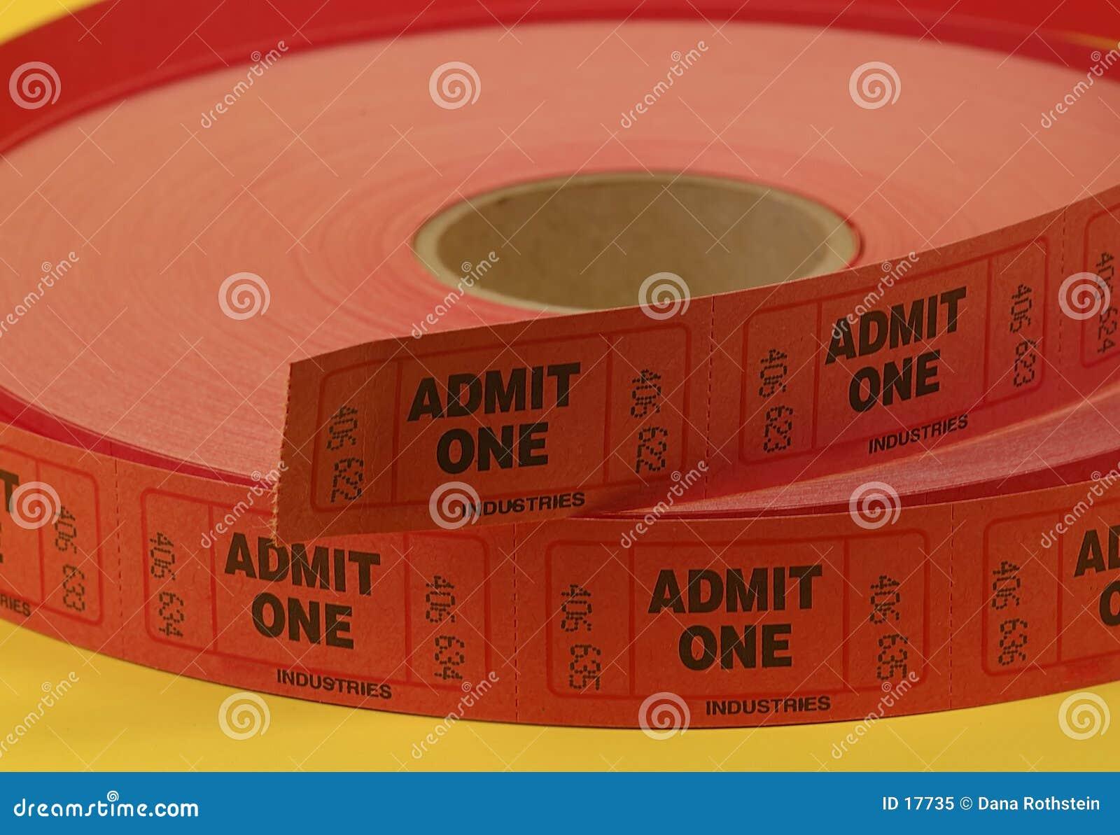 εισιτήρια αποδοχής