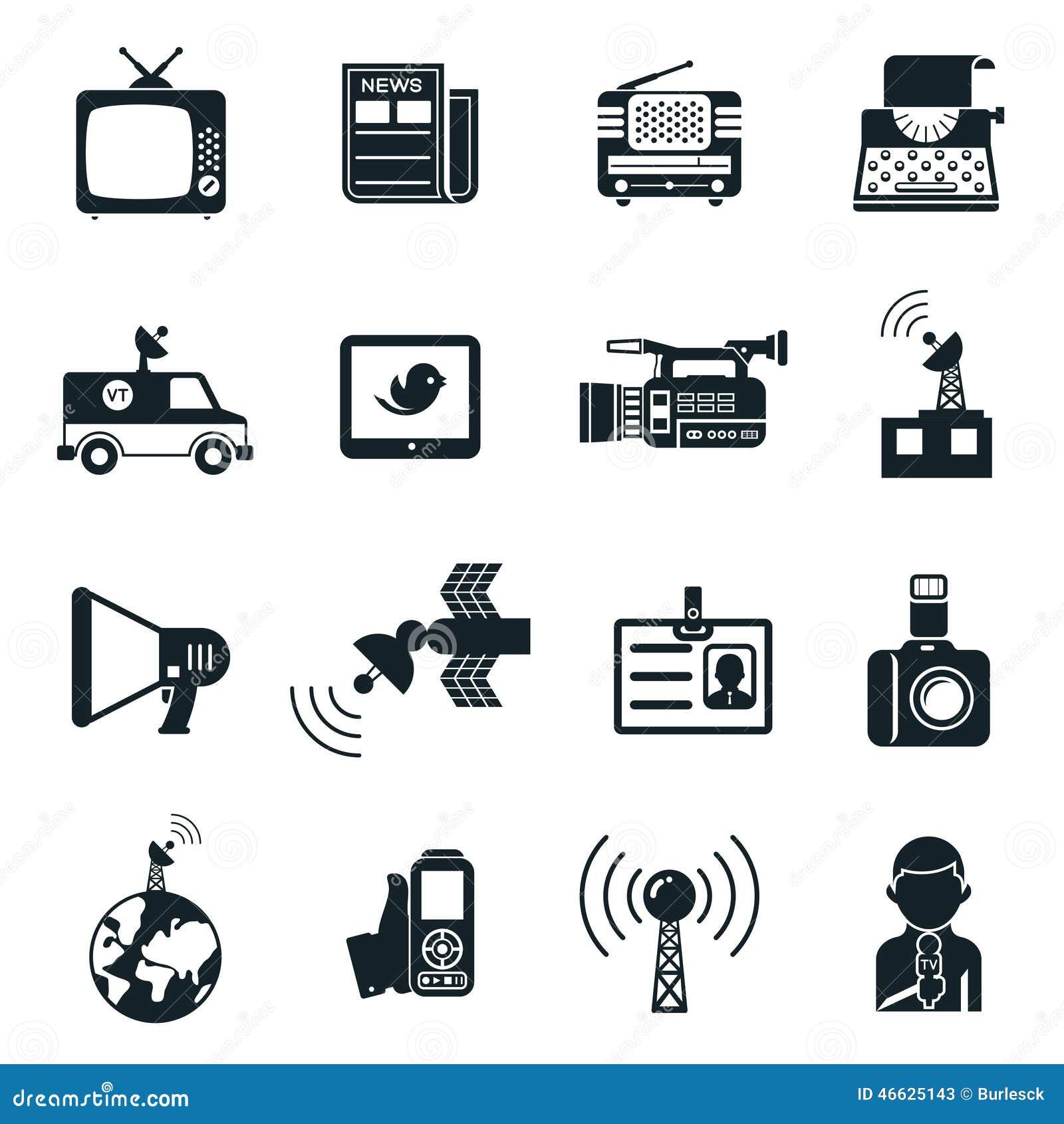 Ειδήσεις και εικονίδια μέσων