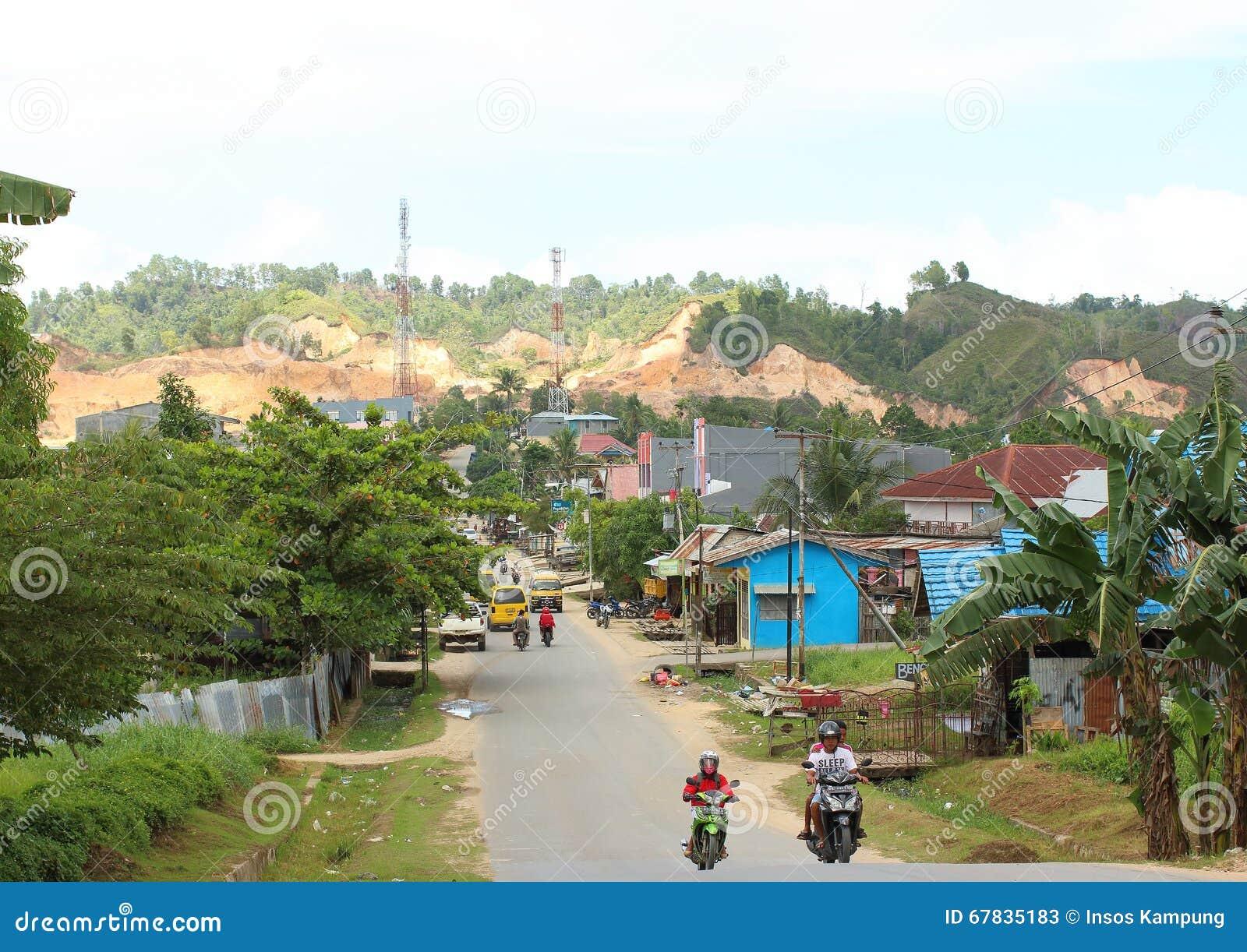 Εκβάθυνση στην περιοχή Sorong Montanious