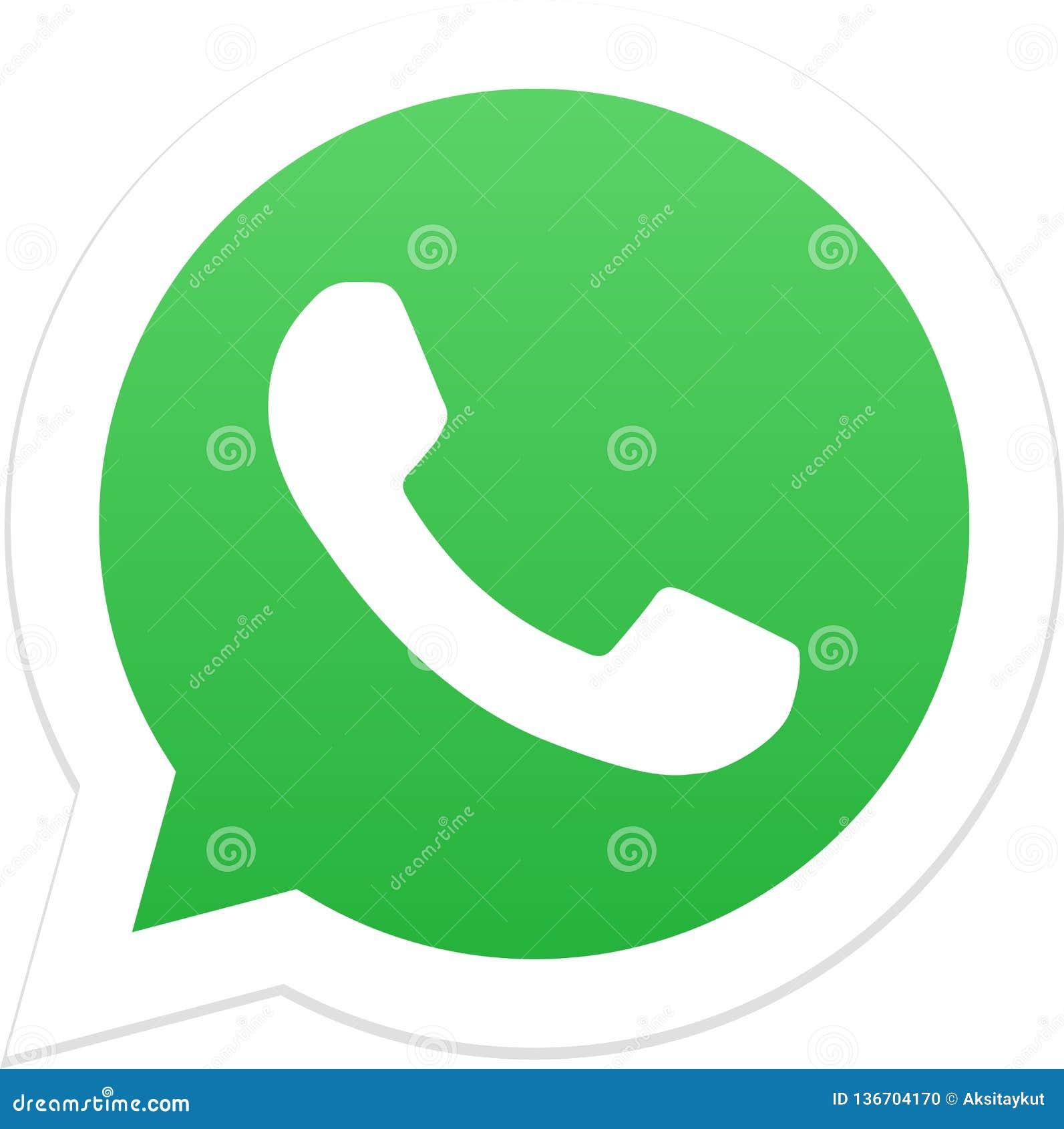 Εκδοτικός - λογότυπο εικονιδίων Whatsapp