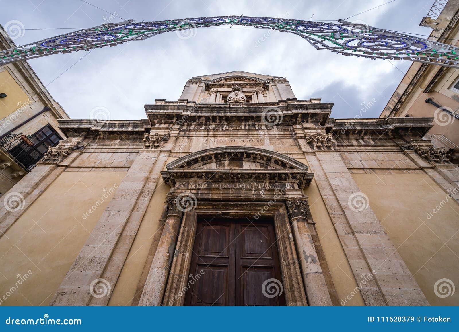 Εκκλησία στις Συρακούσες