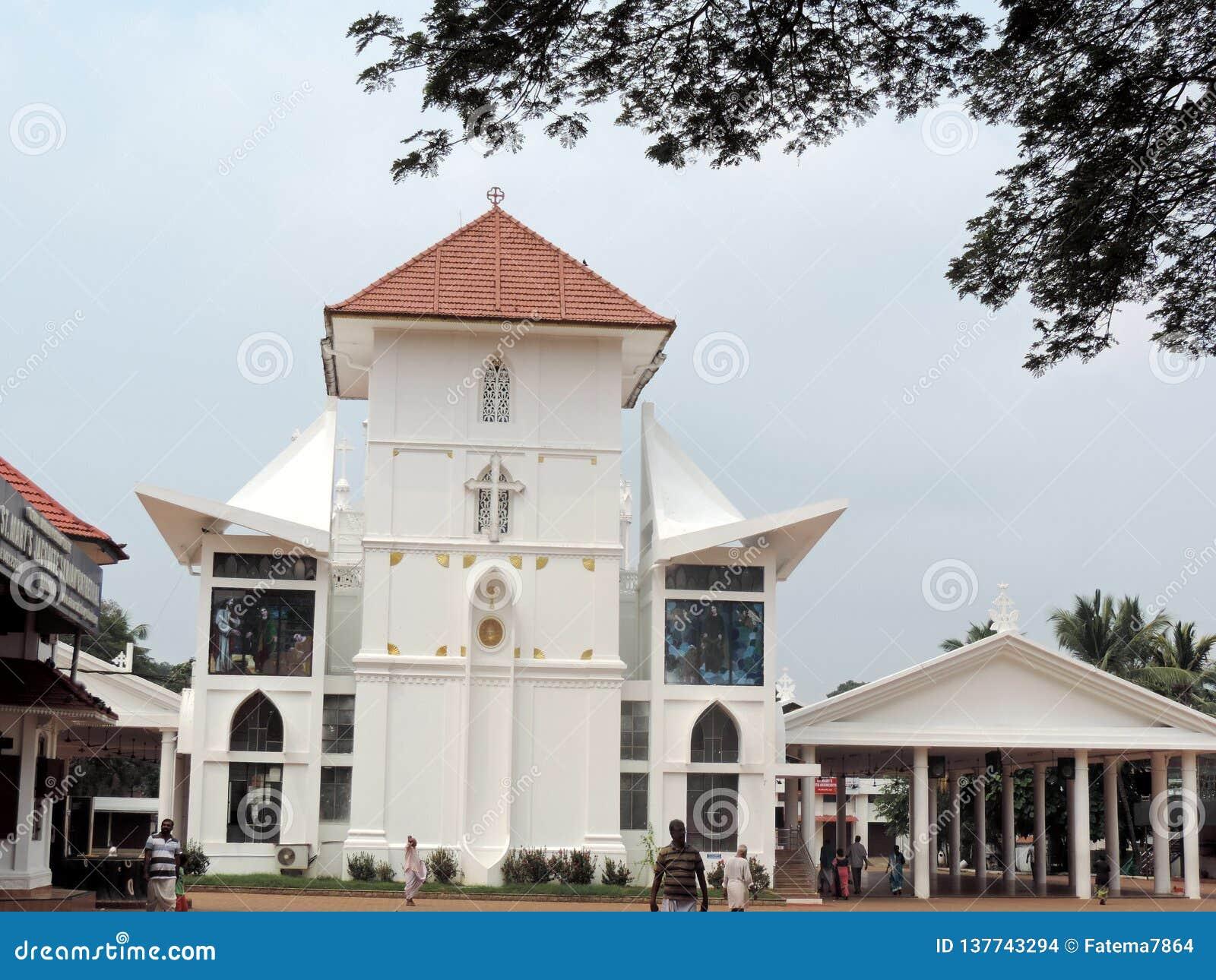 Εκκλησία στο Κεράλα, Ινδία