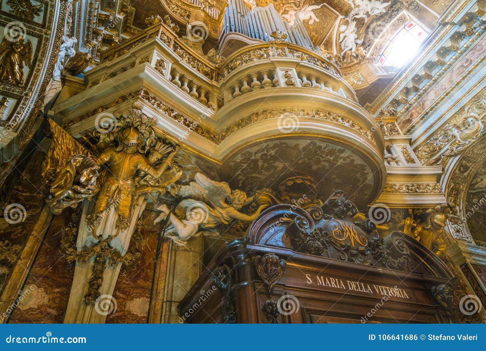 Εκκλησία του della Vittoria της Σάντα Μαρία στη Ρώμη, Ιταλία