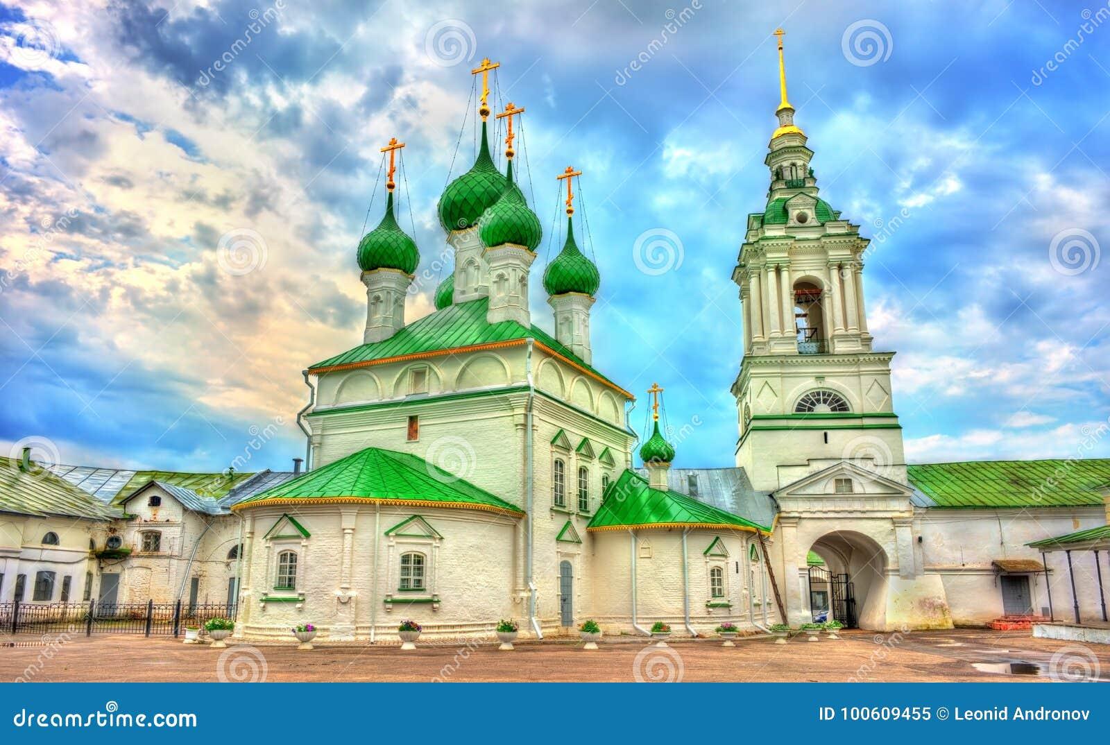 Εκκλησία του Savior στις εμπορικές συναλλαγές arcades σε Kostroma, Ρωσία