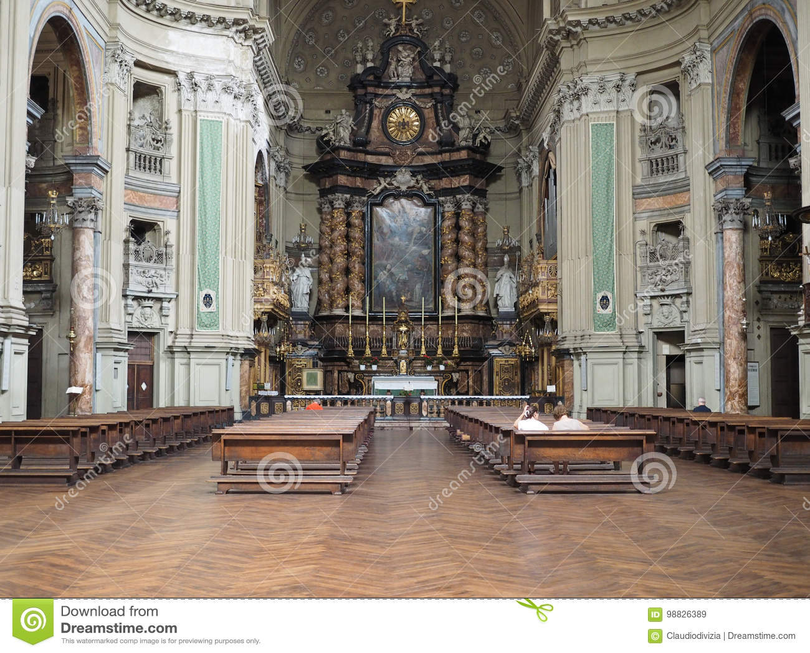 Εκκλησία SAN Filippo Neri στο Τορίνο
