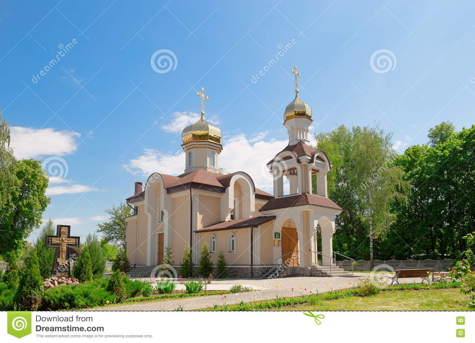 Εκκλησία του Άγιου Βασίλη στην περιοχή του χωριού Romanowicz Gomel, Λευκορωσία