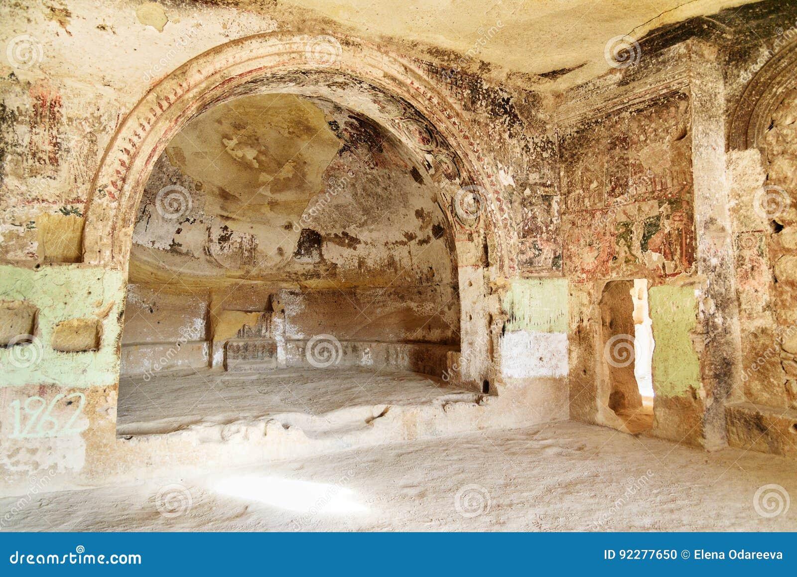 Εκκλησία του ST John ο βαπτιστικός σε Cavusin cappadocia Τουρκία