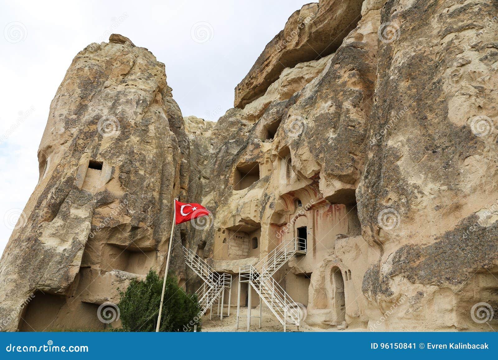 Εκκλησία Cavusin σε Cappadocia, Τουρκία