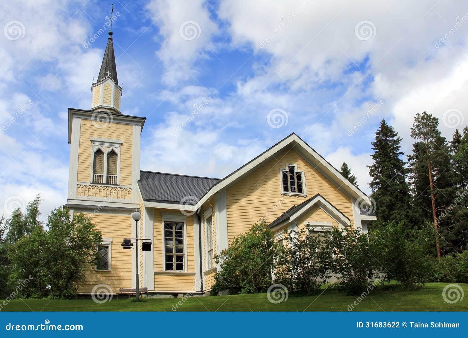 Εκκλησία Jamijarvi, Φινλανδία