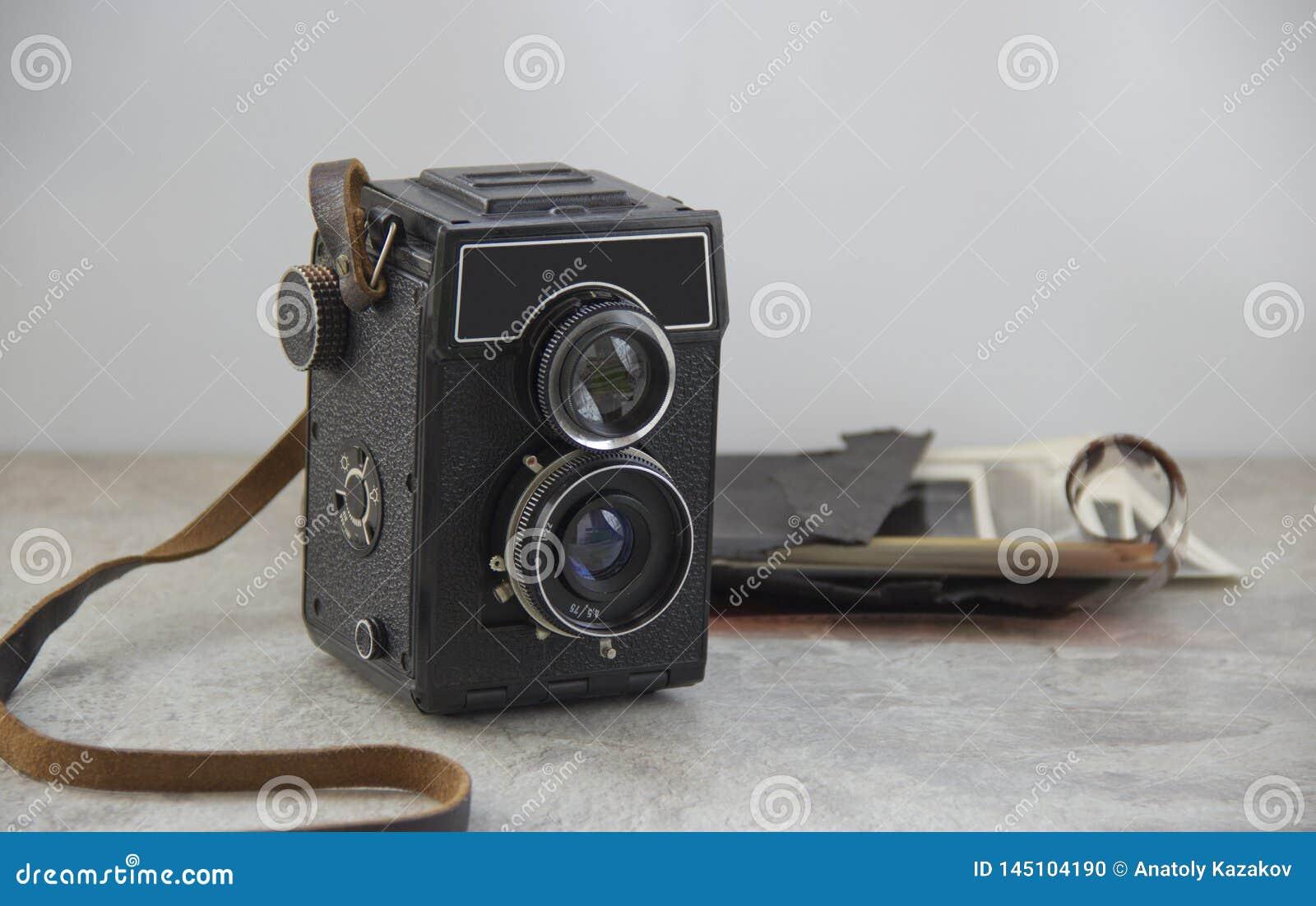 Εκλεκτής ποιότητας κάμερα στον πίνακα