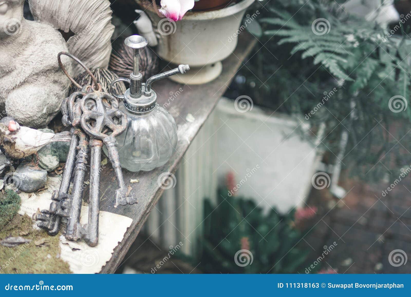 Εκλεκτής ποιότητας κλειδιά στον κήπο