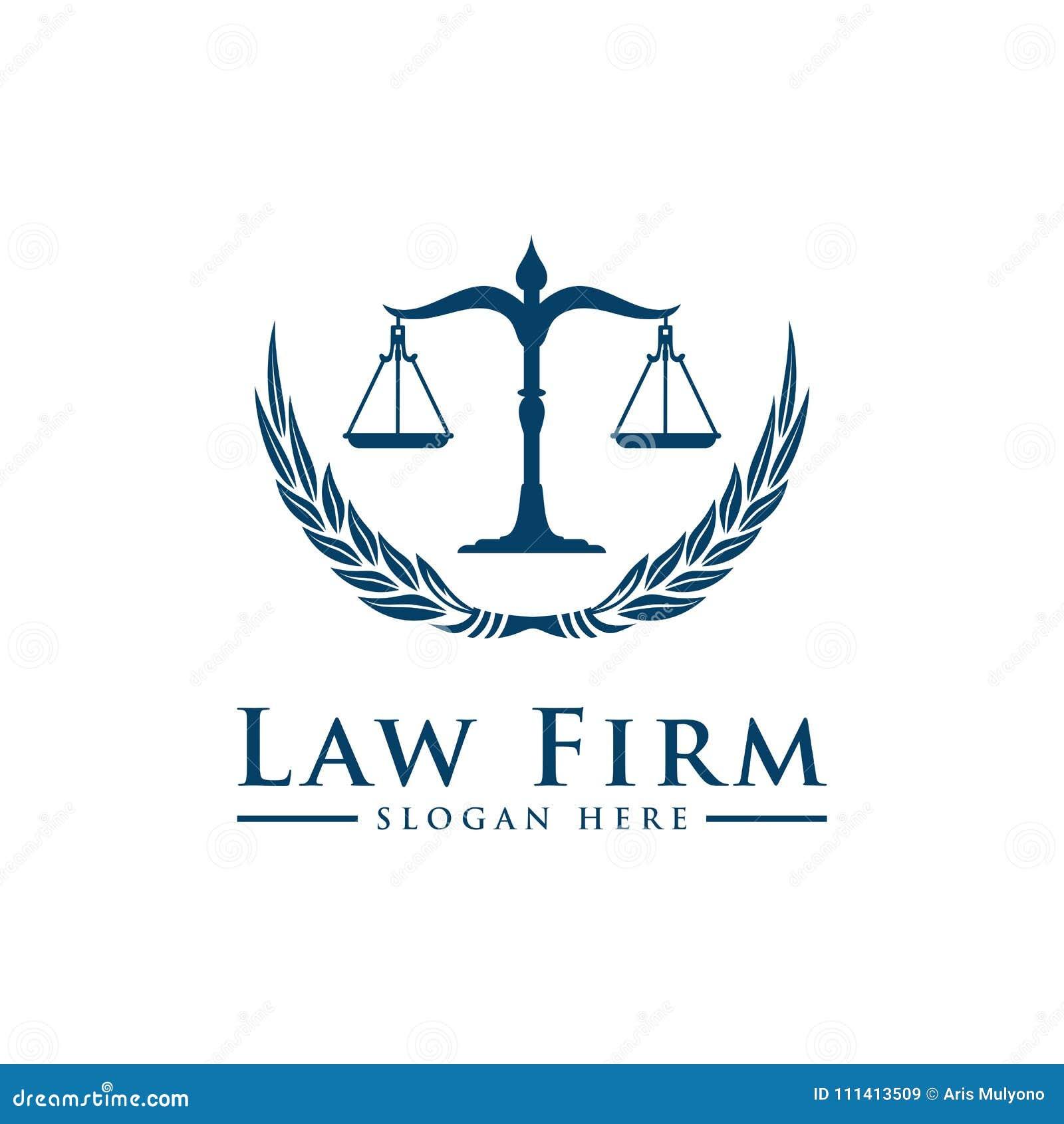 8eb893e8ea Το εκλεκτής ποιότητας νομικό λογότυπο λογότυπων με την επιτομή του βασίλειου  καλλιγραφίας και των κομψών στοιχείων διακόσμησης Διανυσματική διακόσμηση  ...