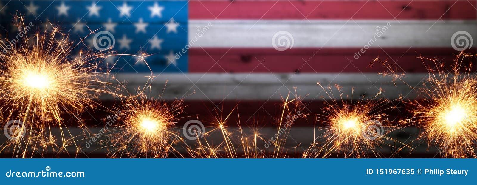 Εκλεκτής ποιότητας ξύλινη αμερικανική σημαία