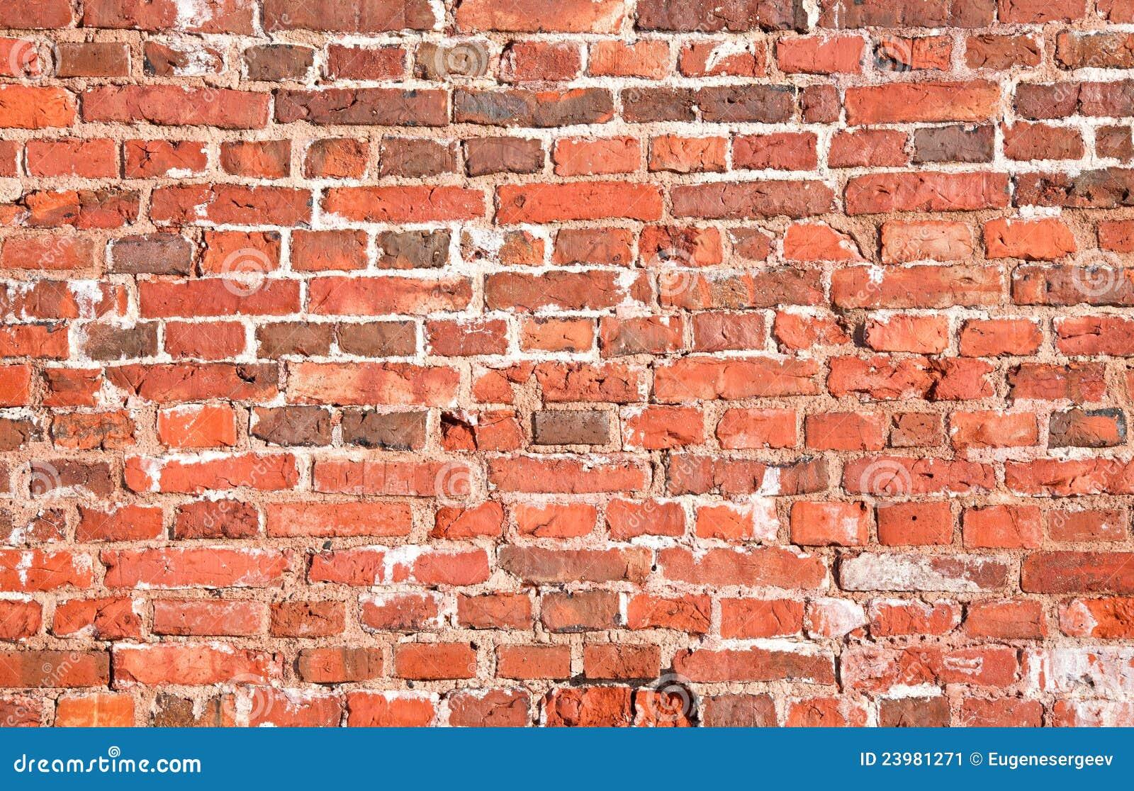 εκλεκτής ποιότητας τοίχος σύστασης τούβλου κόκκινος