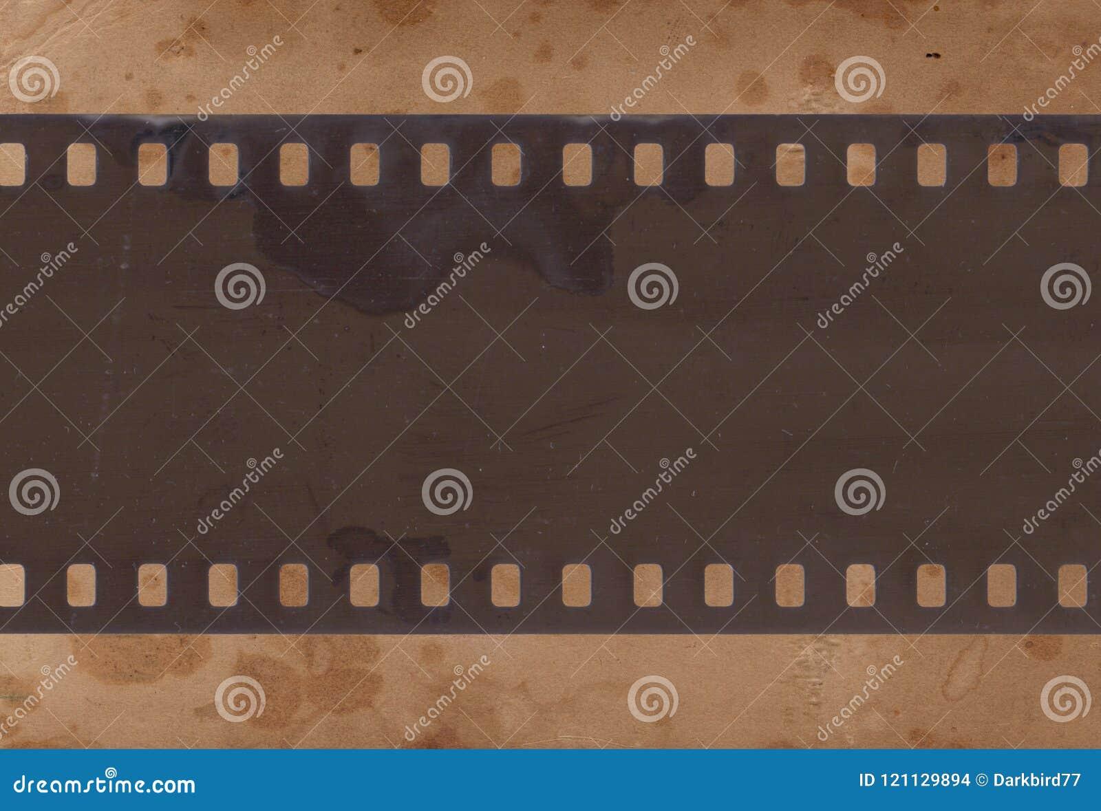Εκλεκτής ποιότητας υπόβαθρο με το αναδρομικό έγγραφο και την παλαιά λουρίδα ταινιών
