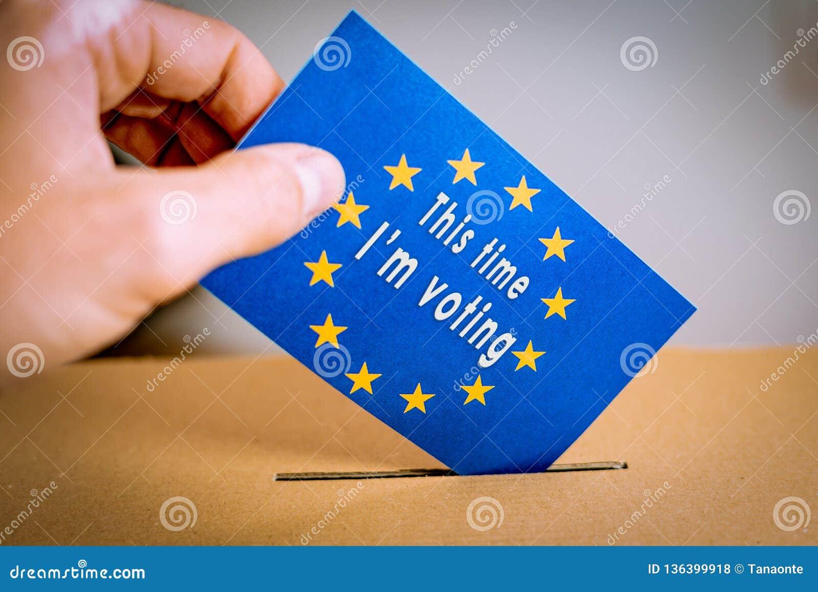 Εκλογή στην Ευρωπαϊκή Ένωση - που ψηφίζει στο κάλπη