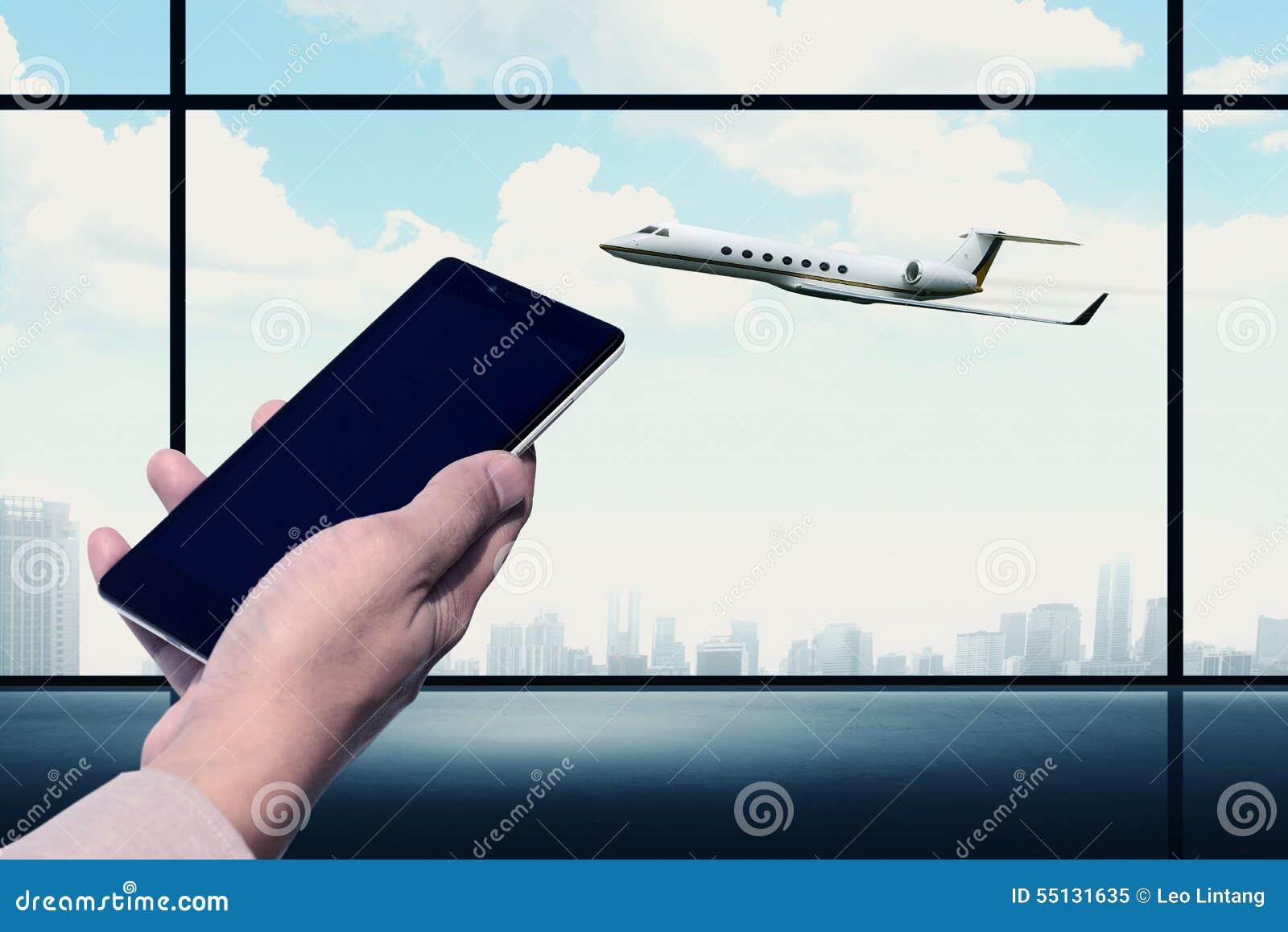 Εκμετάλλευση κινητών τηλεφώνων στον αερολιμένα