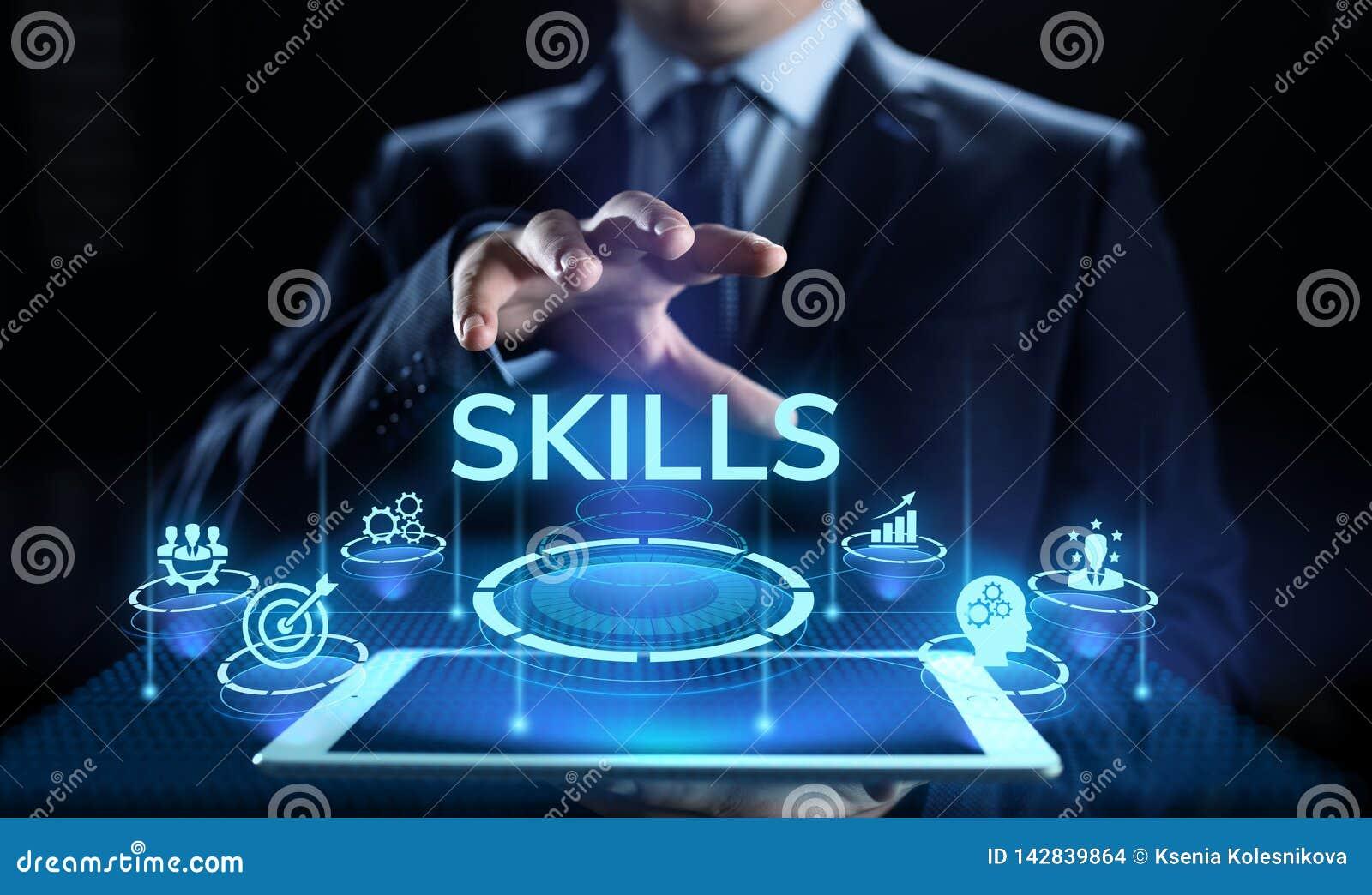 Εκπαίδευση δεξιοτήτων που μαθαίνει την προσωπική επιχειρησιακή έννοια ικανότητας ανάπτυξης