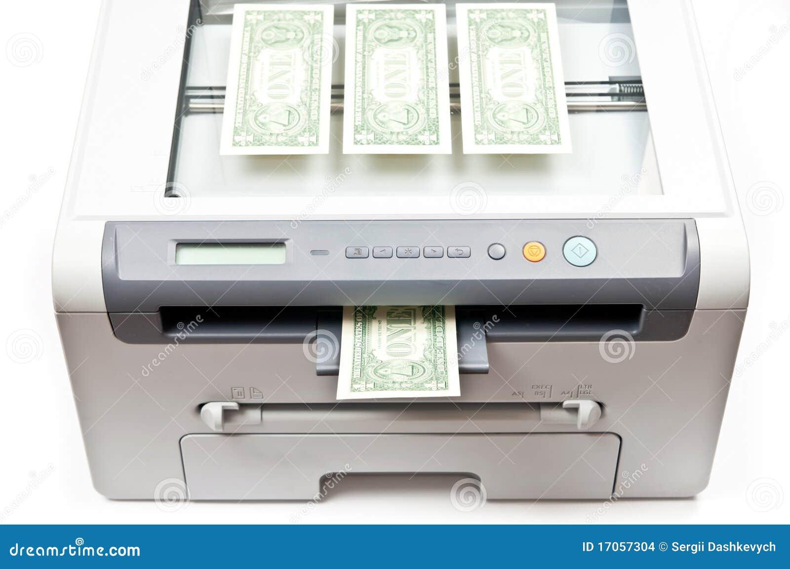 εκτυπωτής χρημάτων