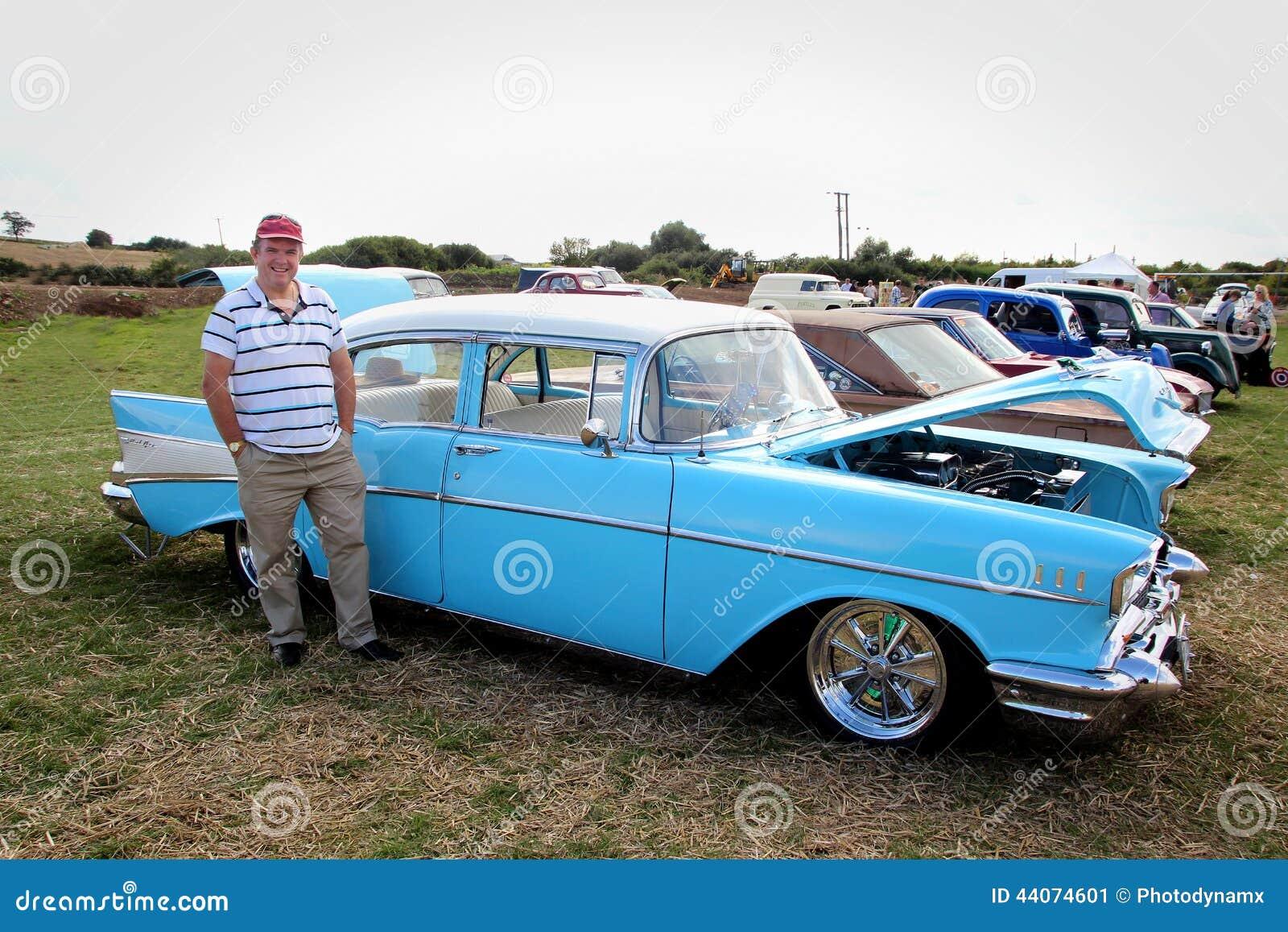 Εκλεκτής ποιότητας αυτοκίνητο αέρα μπελ chevrolet του 1957