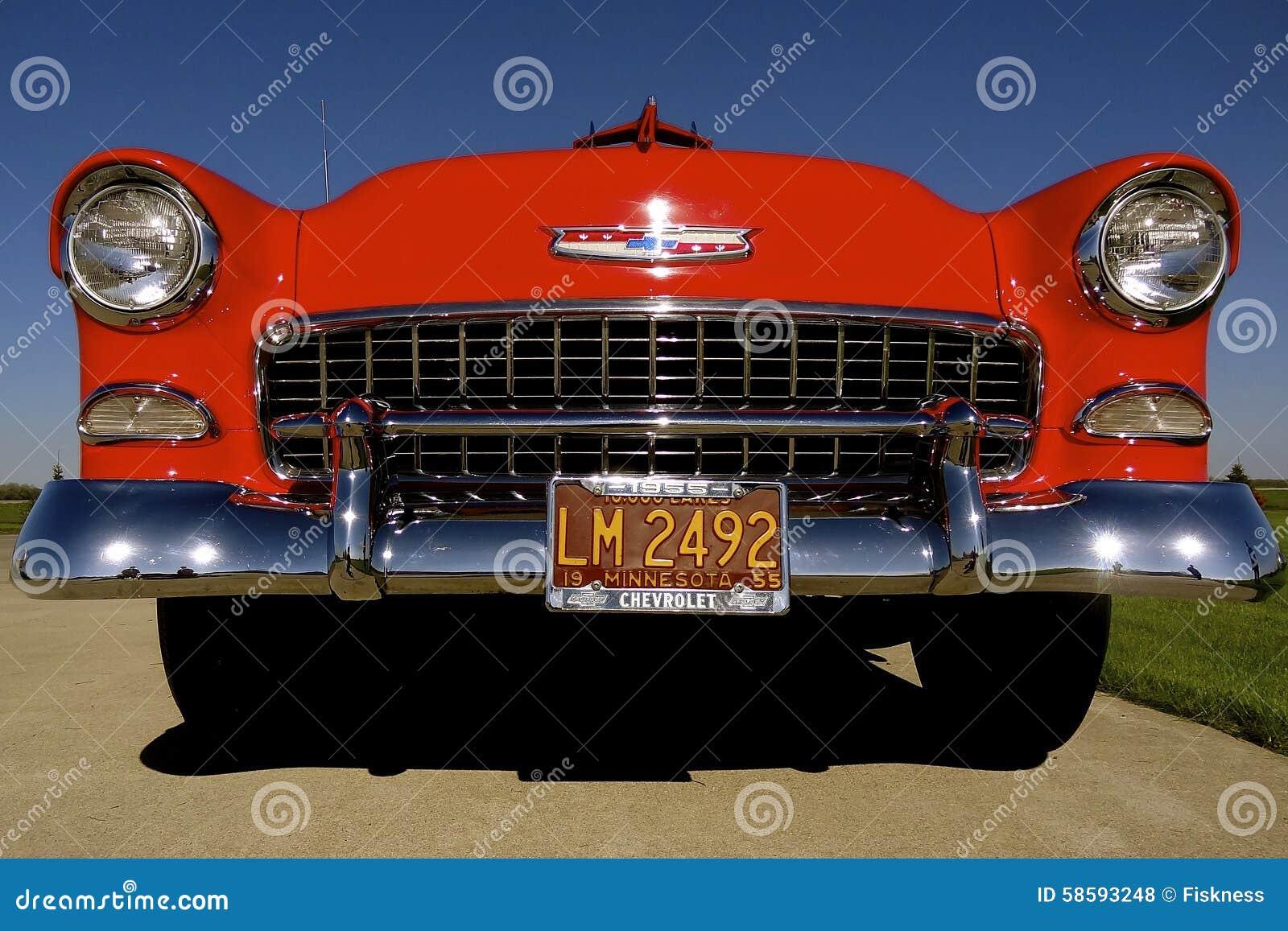 Εκλεκτής ποιότητας κόκκινο 1955 Chevy