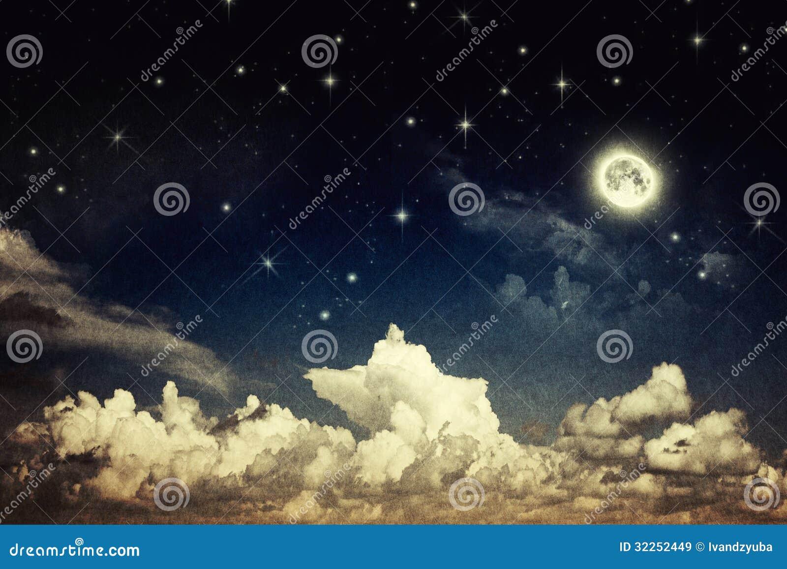 Εκλεκτής ποιότητας νυχτερινός ουρανός
