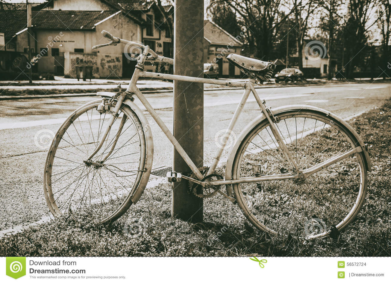 Download Εκλεκτής ποιότητας ποδήλατο Στοκ Εικόνες - εικόνα από βρώμικος, ηλιόλουστος: 56572724