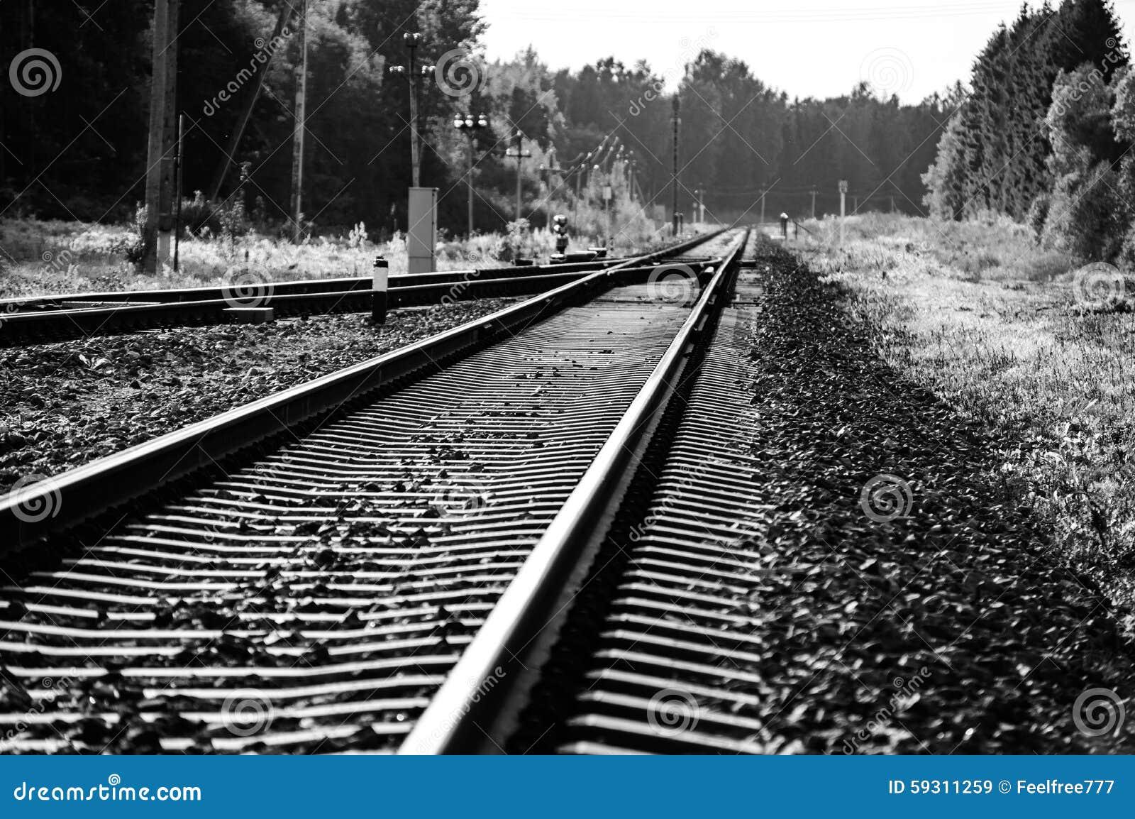 Εκλεκτής ποιότητας σιδηρόδρομος στη Ρωσική Ομοσπονδία
