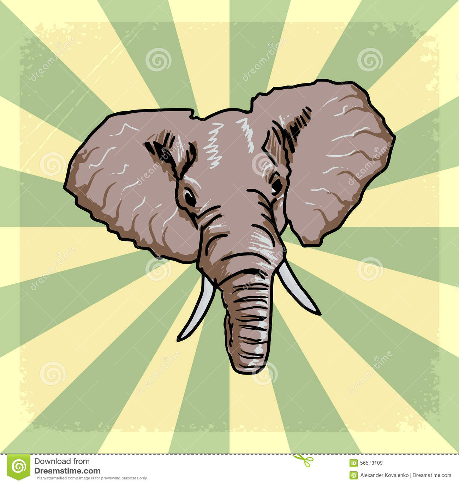 Download Εκλεκτής ποιότητας υπόβαθρο με τον ελέφαντα Απεικόνιση αποθεμάτων - εικονογραφία από antiquate, έγγραφο: 56573109
