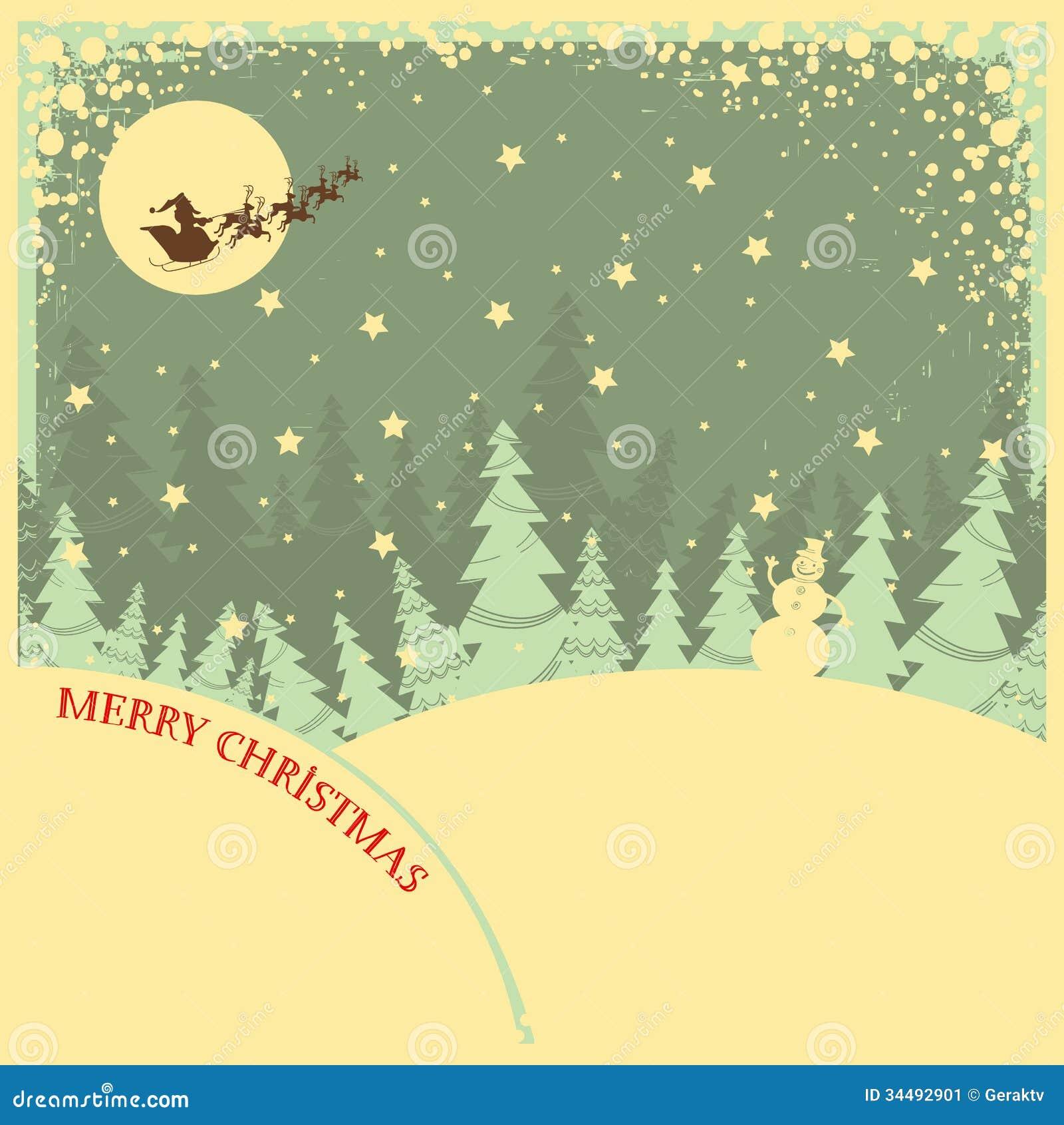 Εκλεκτής ποιότητας υπόβαθρο Χριστουγέννων με το κείμενο στο Λα νύχτας