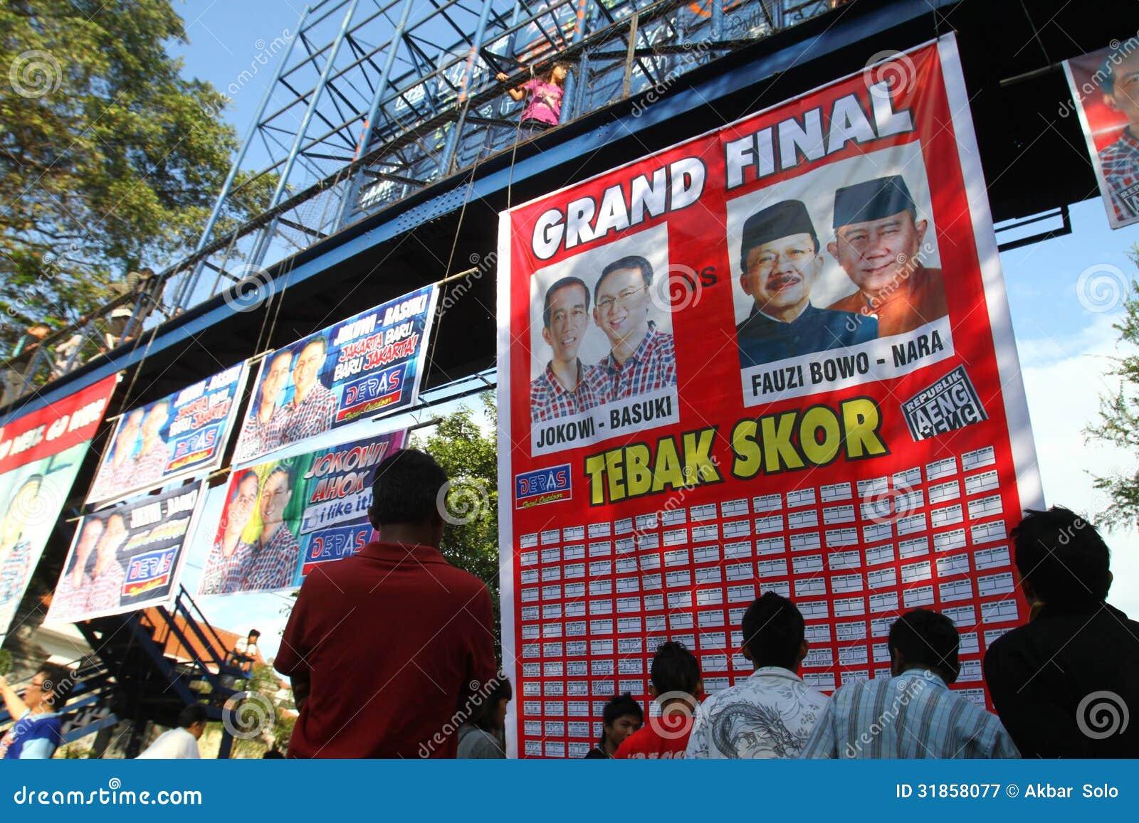 Εκλογή κυβερνητών της Τζακάρτα