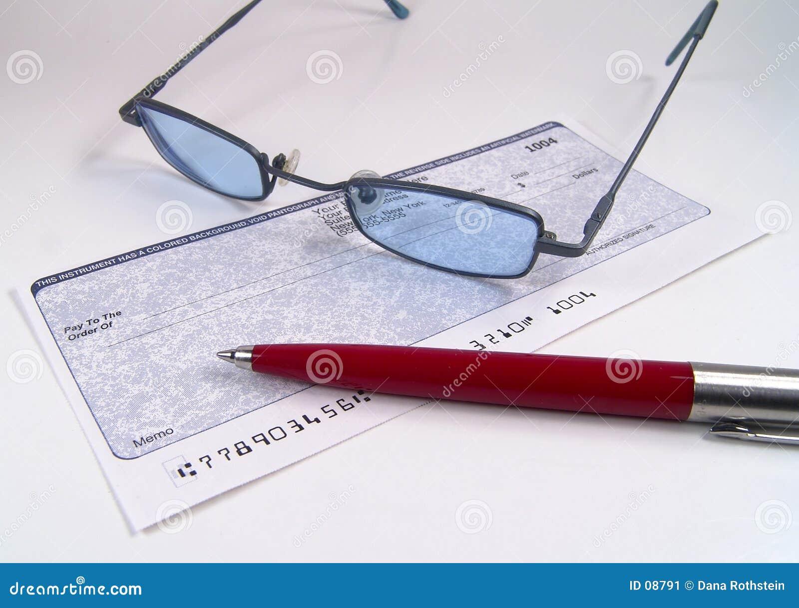 ελέγξτε την πέννα γυαλιών