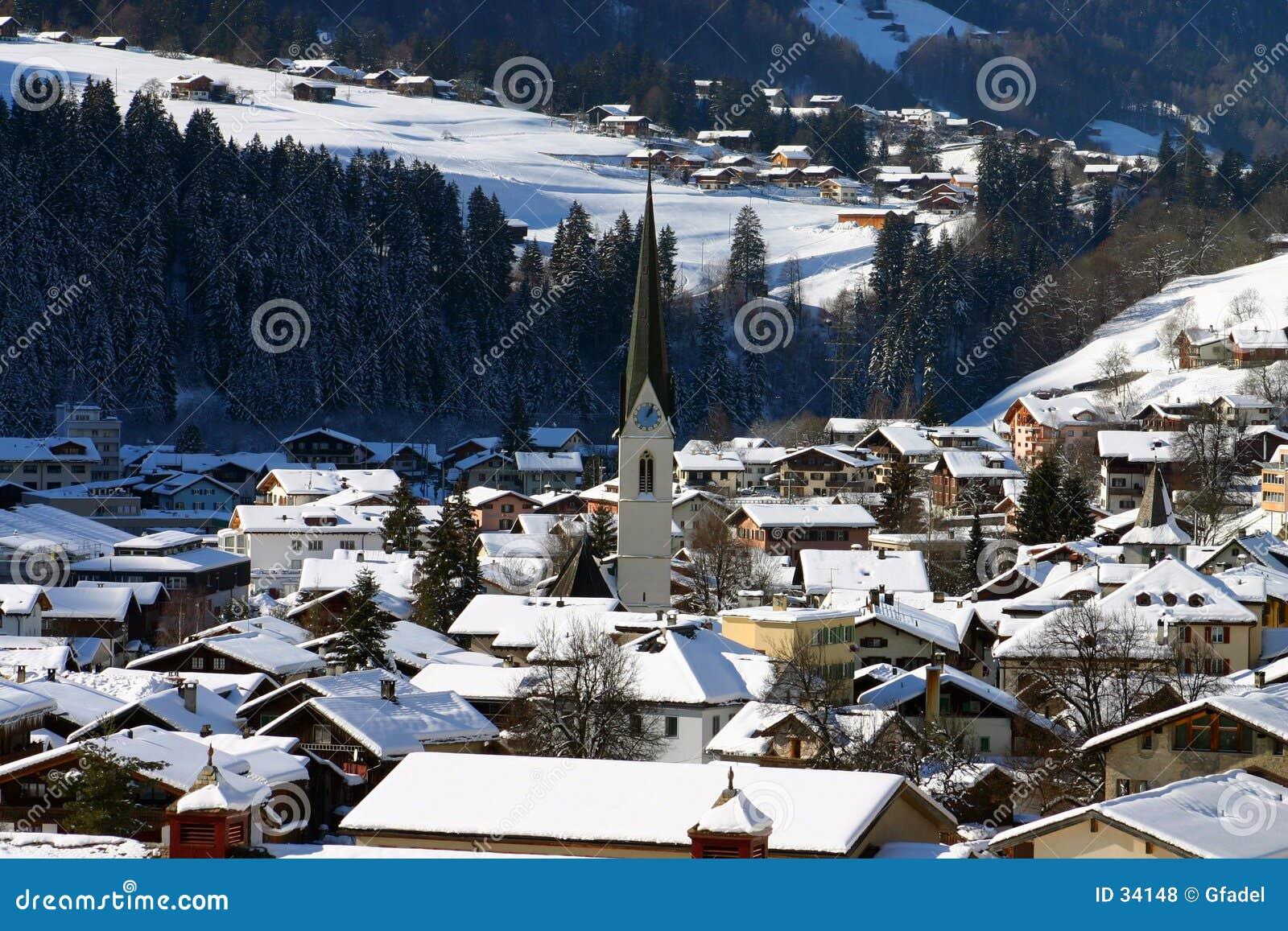 ελβετικό χωριό
