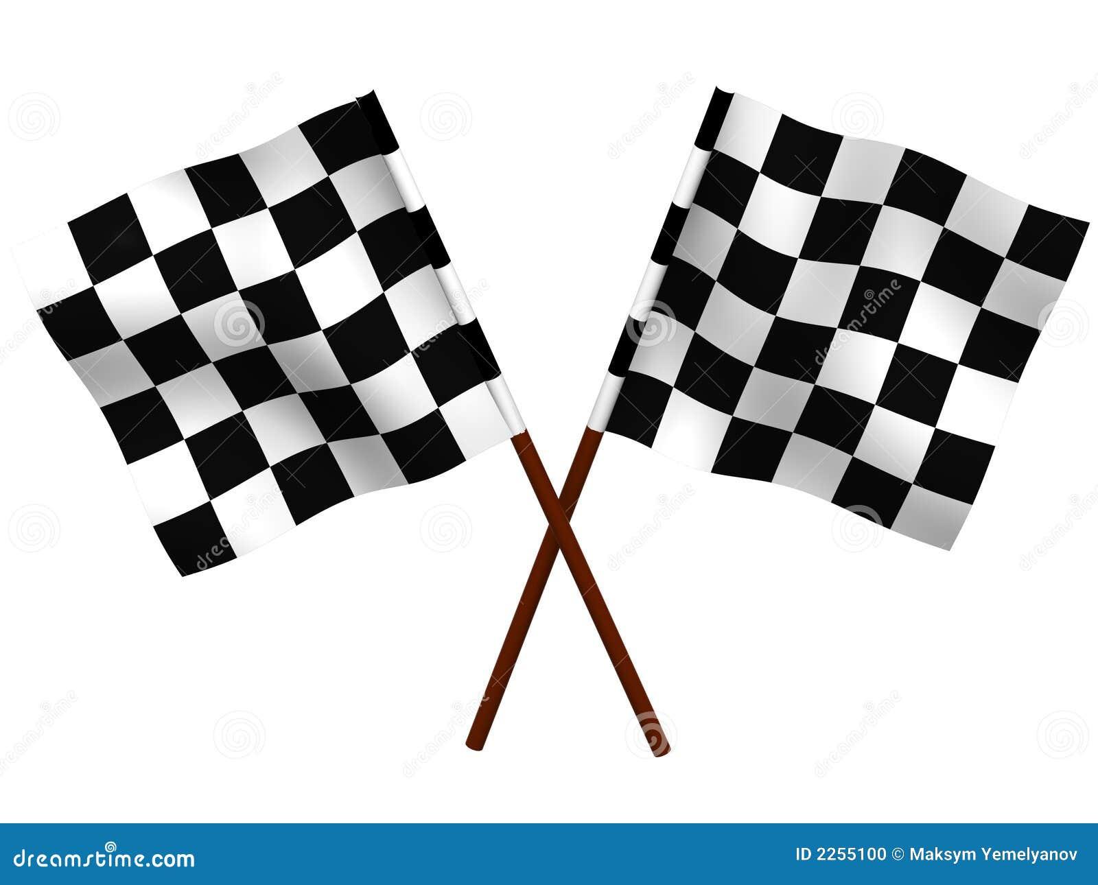 ελεγμένη σημαία λήξης
