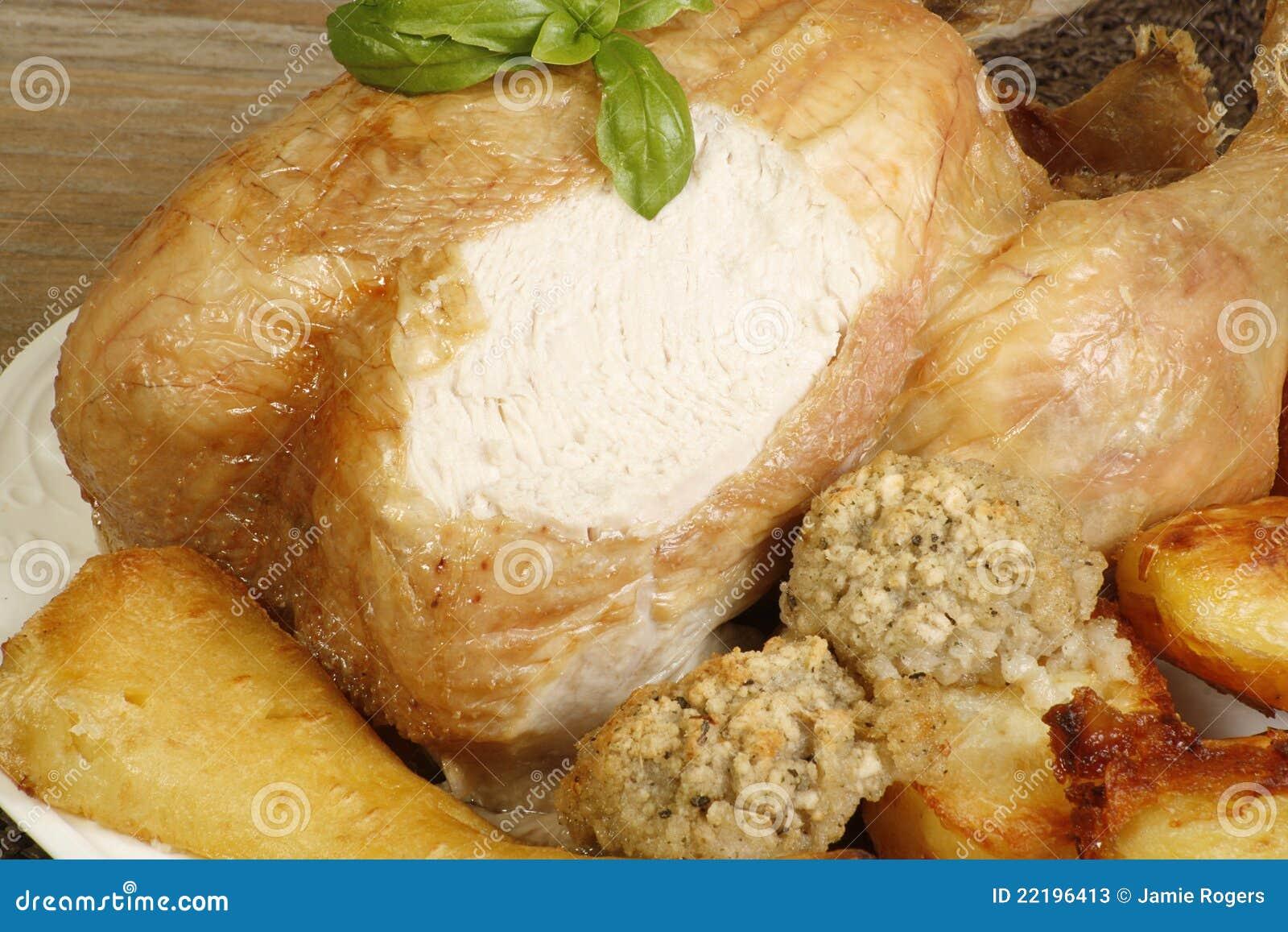 ελεύθερο roast σειράς κοτόπ&om