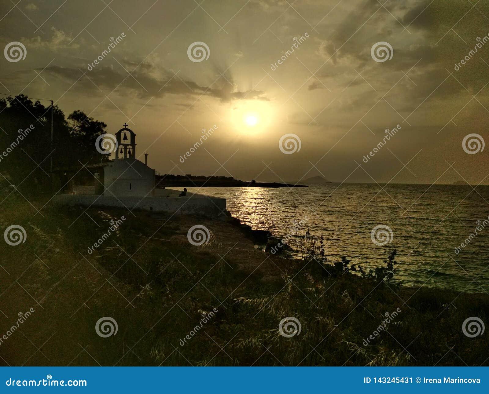 ελληνικό ηλιοβασίλεμα &e