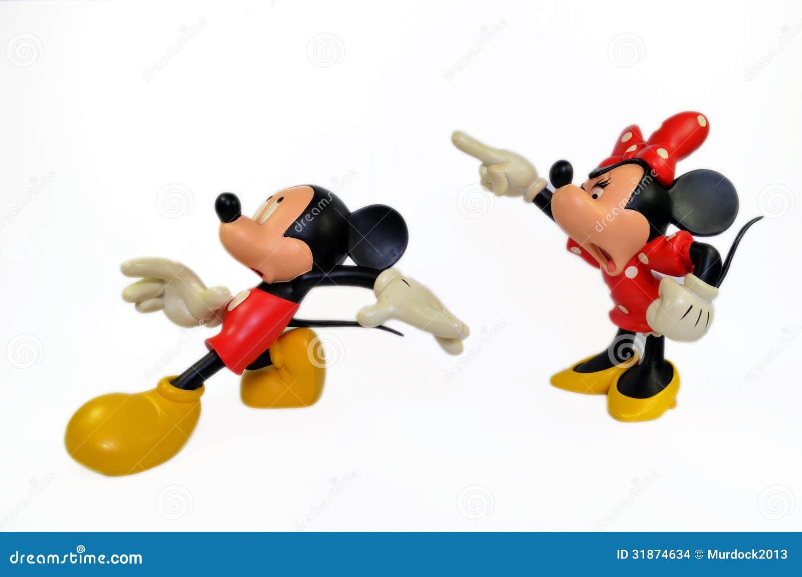 Εμπαιγμός και ποντίκι της Minnie
