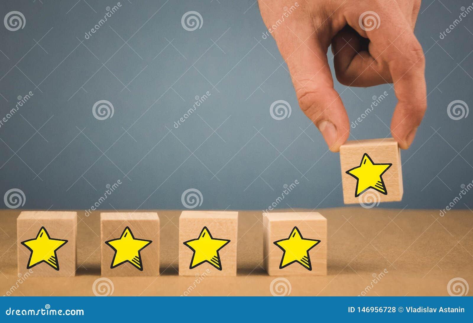 Εμπειρία πελατών, έρευνα ικανοποίησης, αξιολόγηση, εκτίμηση αύξησης και καλύτερες άριστες υπηρεσίες που εκτιμούν τις έννοιες _