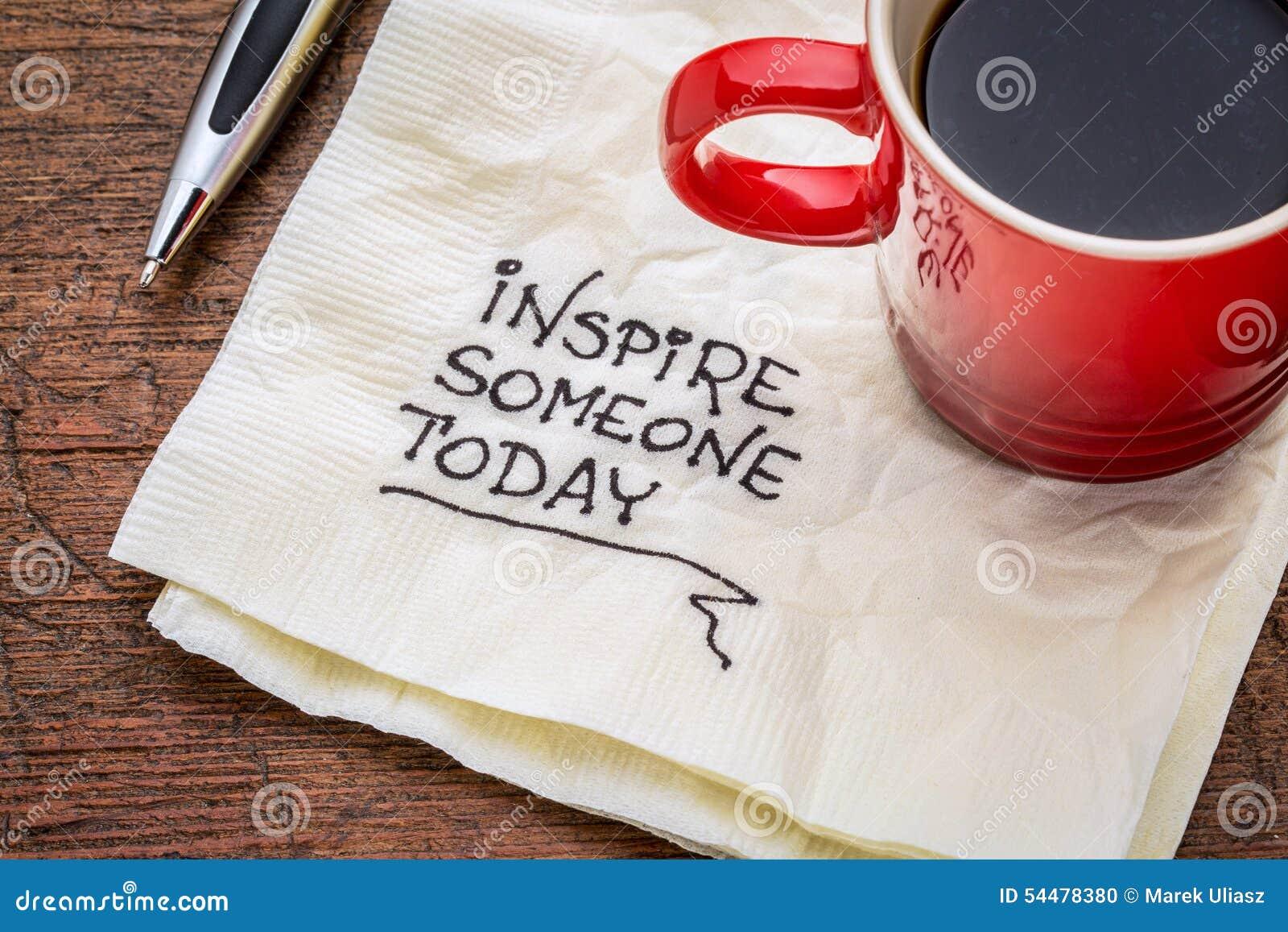 Εμπνεύστε κάποιο σήμερα