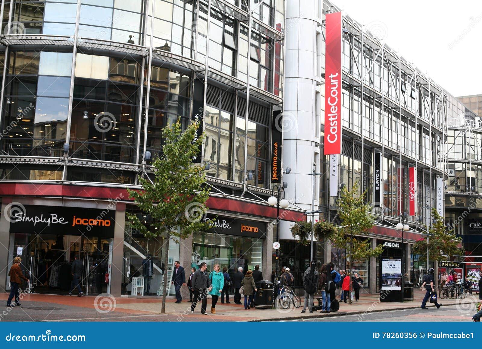 Εμπορικό κέντρο Castlecourt κέντρων της πόλης του Μπέλφαστ