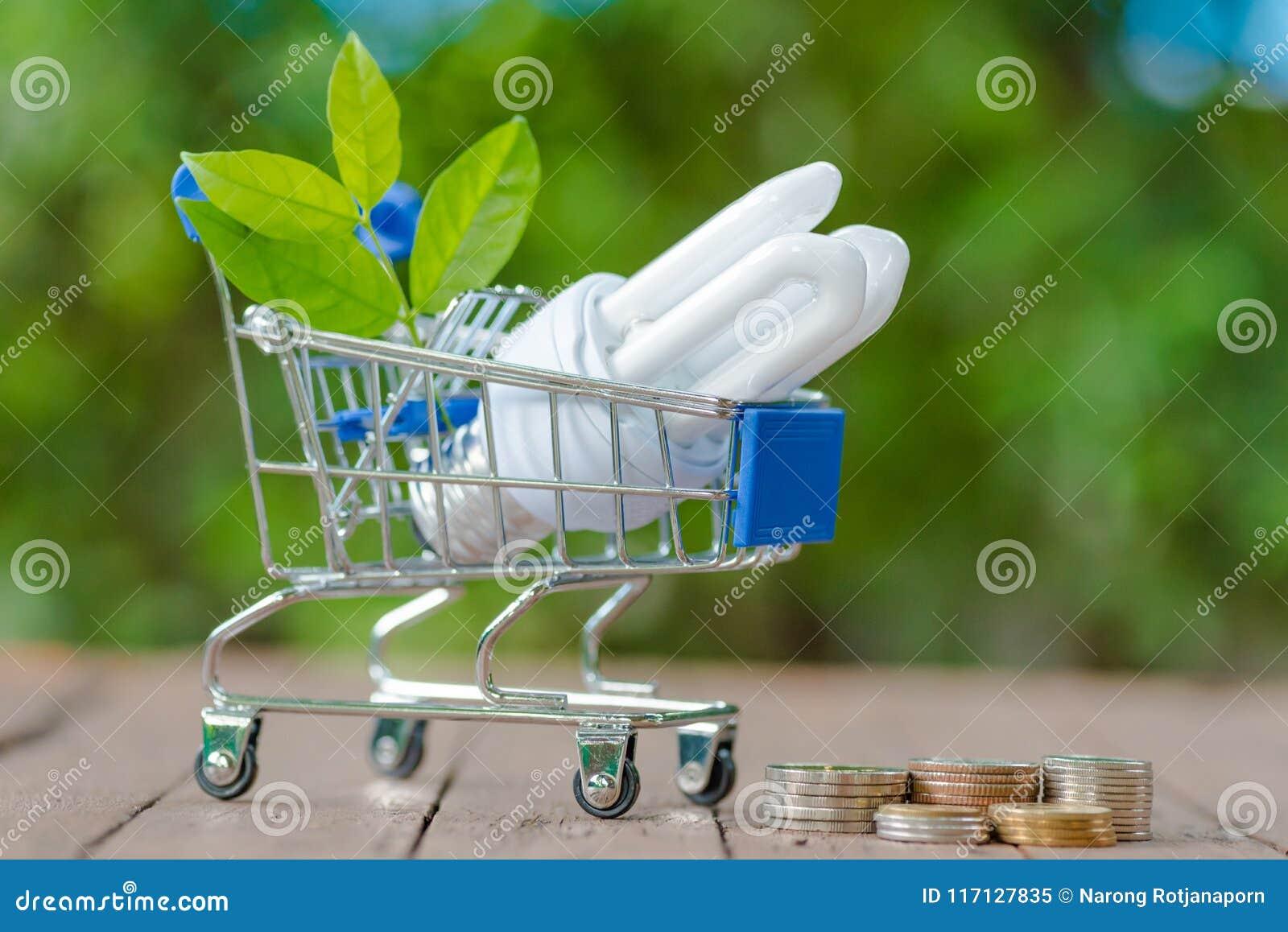 Ενέργεια - ΒΟΛΒΌΣ ECO των οδηγήσεων αποταμίευσης με το περιβάλλον