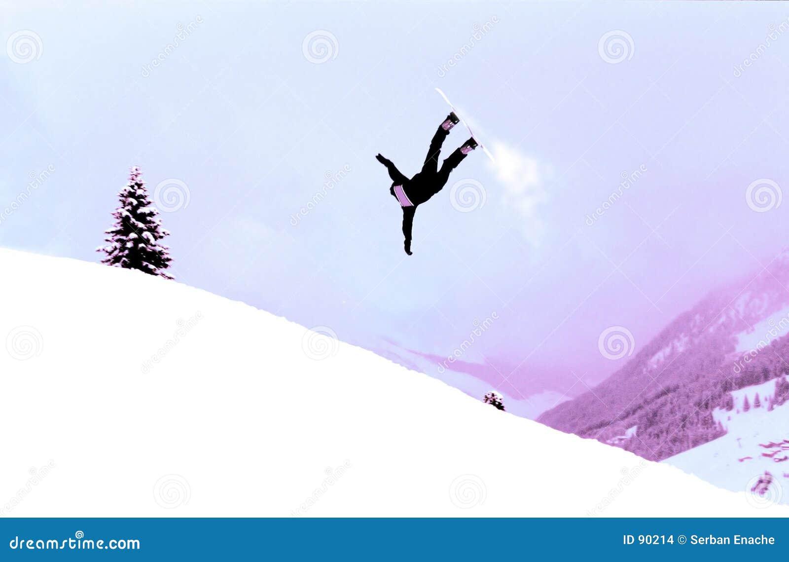 ενέργεια snowboarder