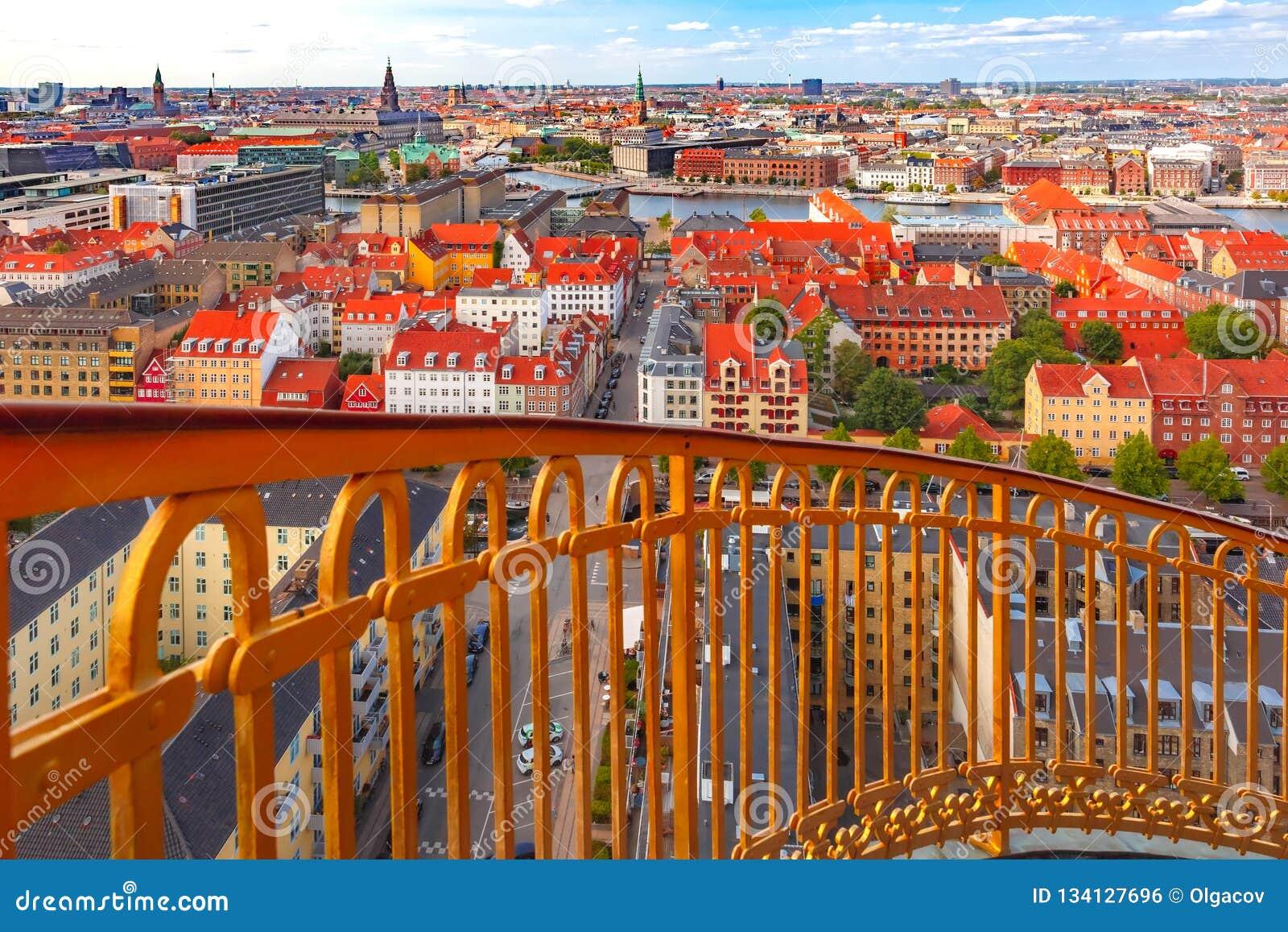 Εναέρια άποψη της Κοπεγχάγης, Δανία