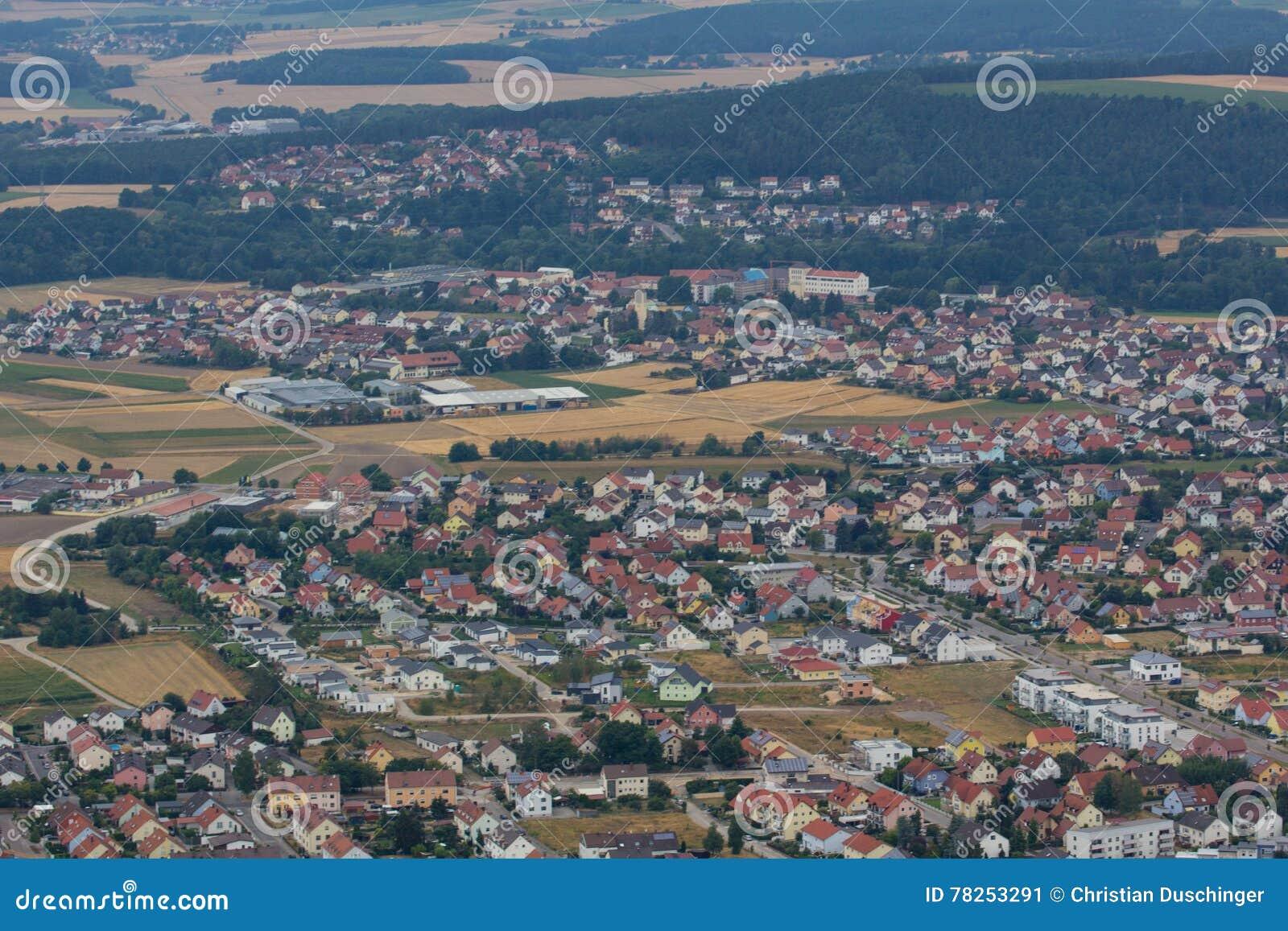 Εναέρια άποψη Schwandorf