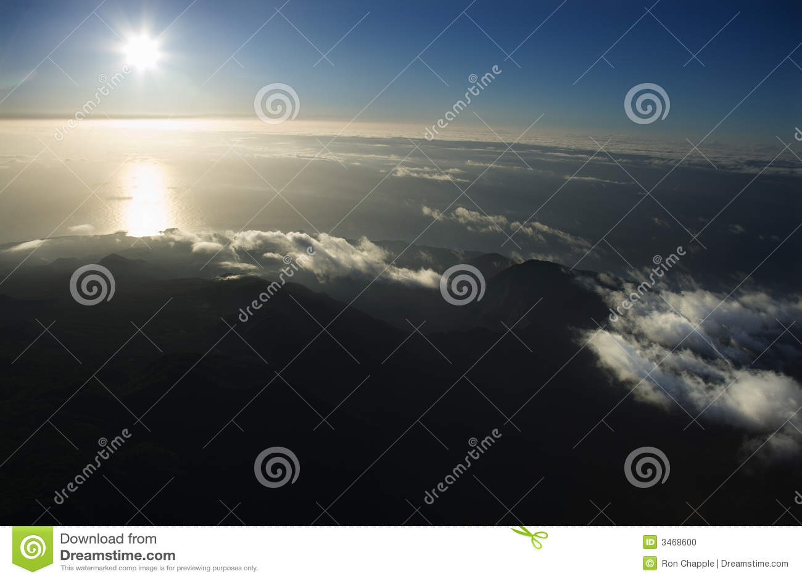εναέρια ακτή Maui