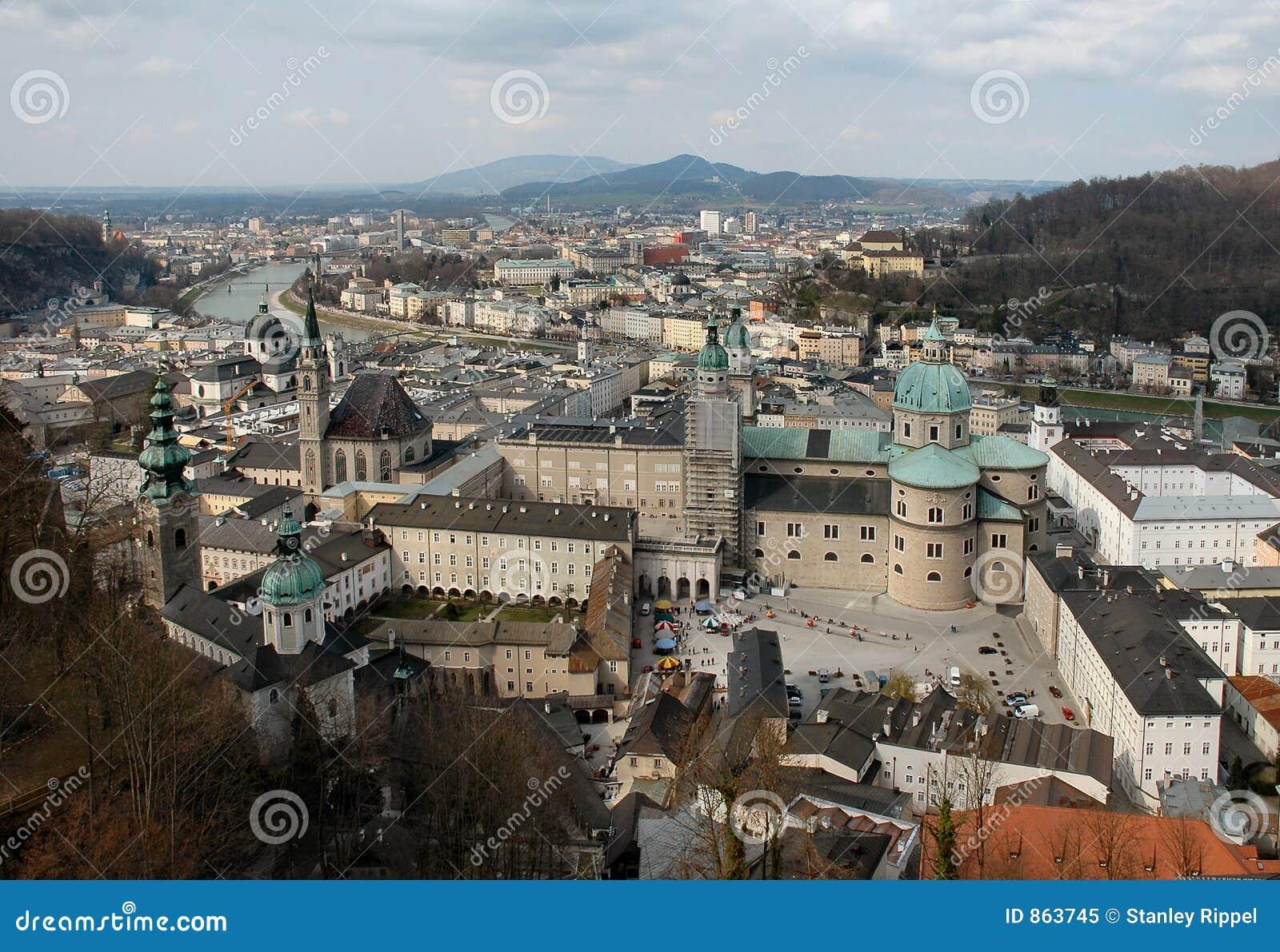 εναέρια όψη της Αυστρίας Σά&